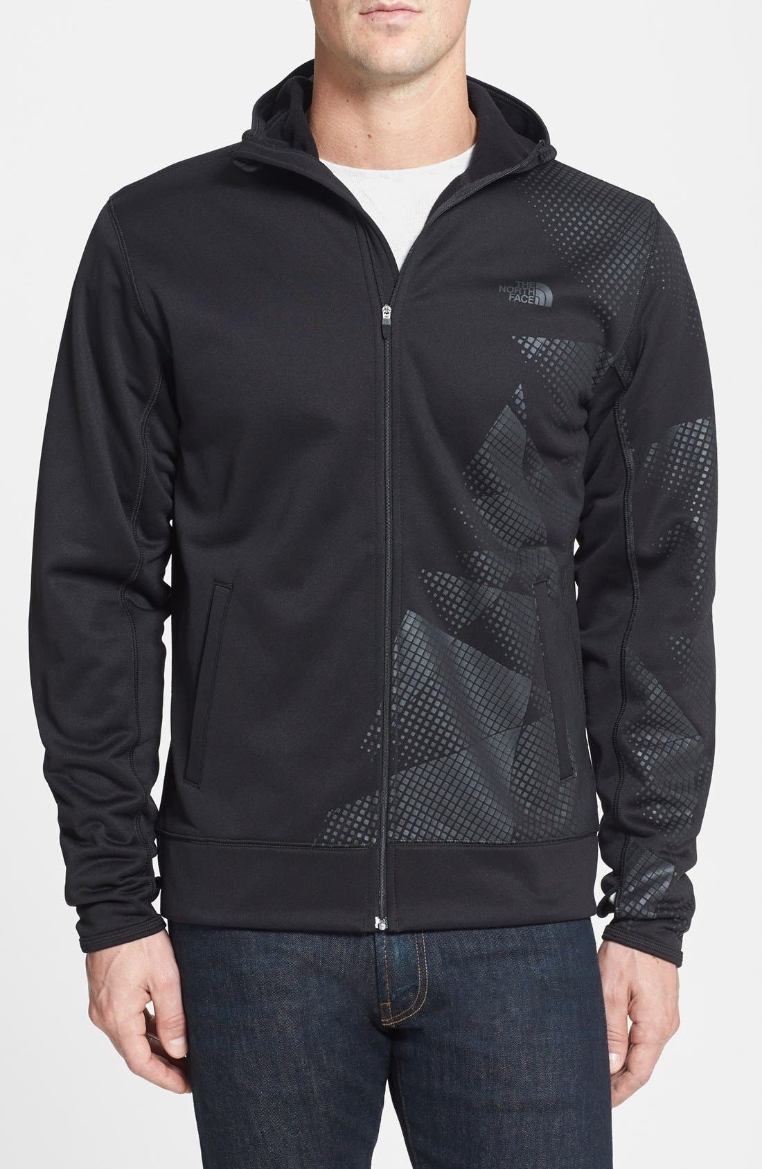 Alternate Image 1 Selected - The North Face 'Surgent' Full Zip Hoodie