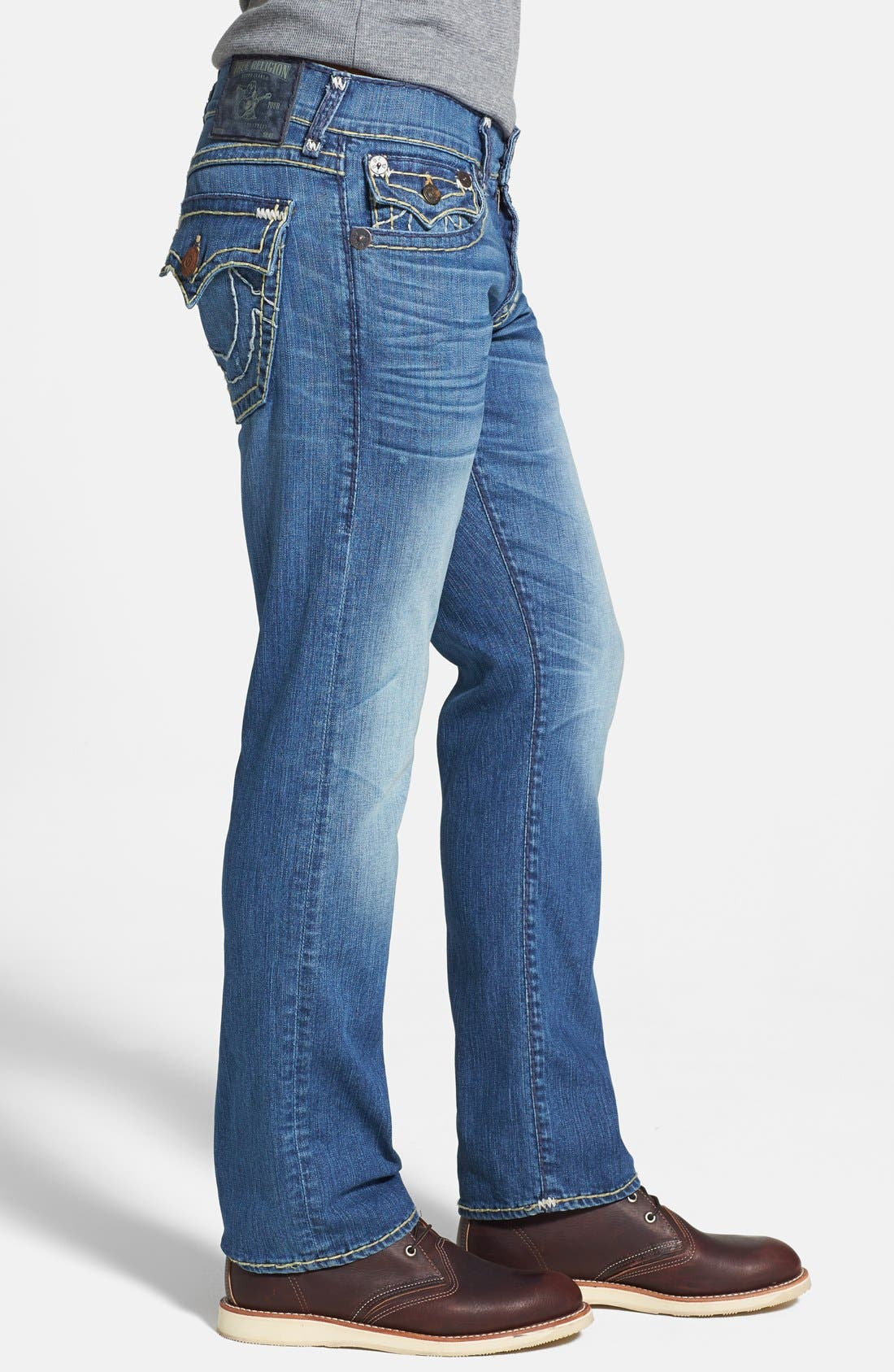 Alternate Image 3  - True Religion Brand Jeans 'Ricky' Relaxed Fit Jeans (Azwl Malibu Cruise)