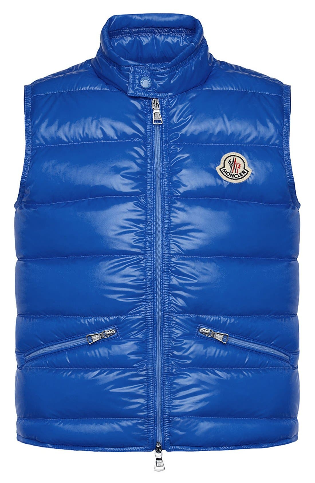Main Image - Moncler Quilted Vest (Toddler Boys, Little Boys & Big Boys)