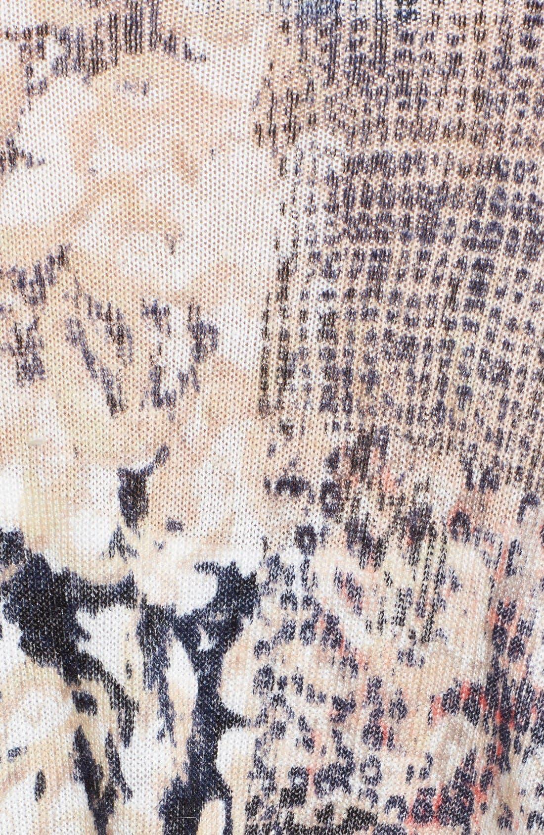 Alternate Image 3  - NIC+ZOE Mélange Cardigan (Regular & Petite)