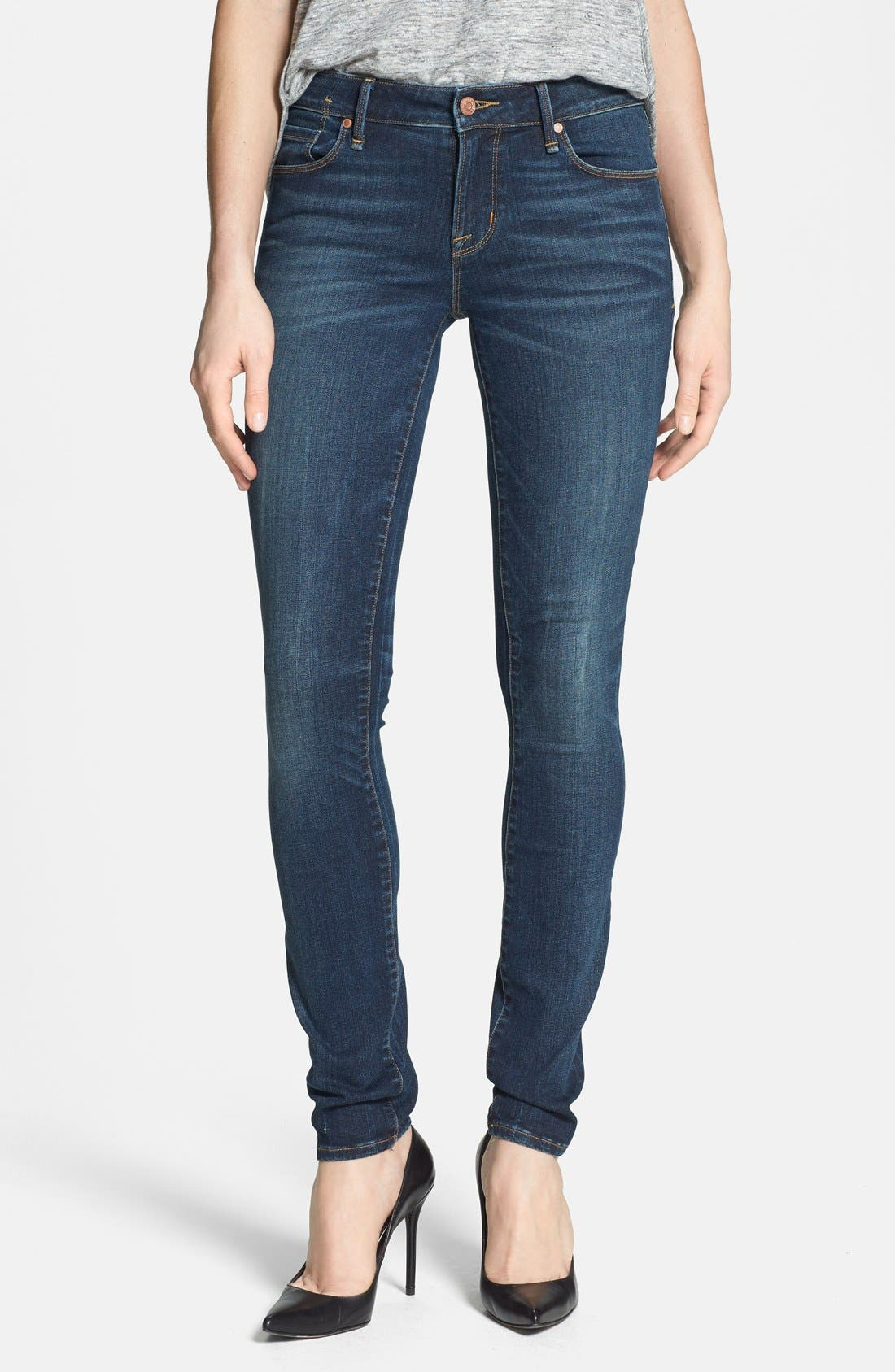 Alternate Image 1 Selected - MARC BY MARC JACOBS 'Gaia' Stretch Super Skinny Jeans (Melrose)