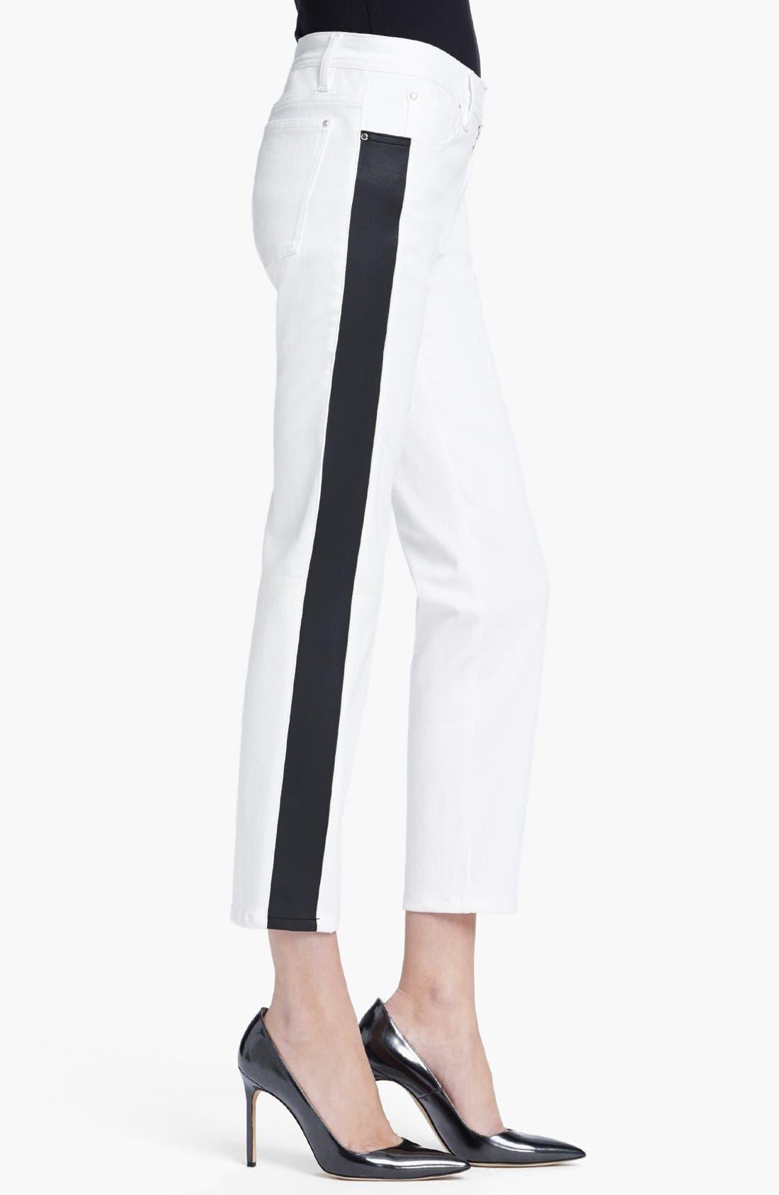 Alternate Image 3  - Faith Connexion Tuxedo Stripe Ankle Jeans