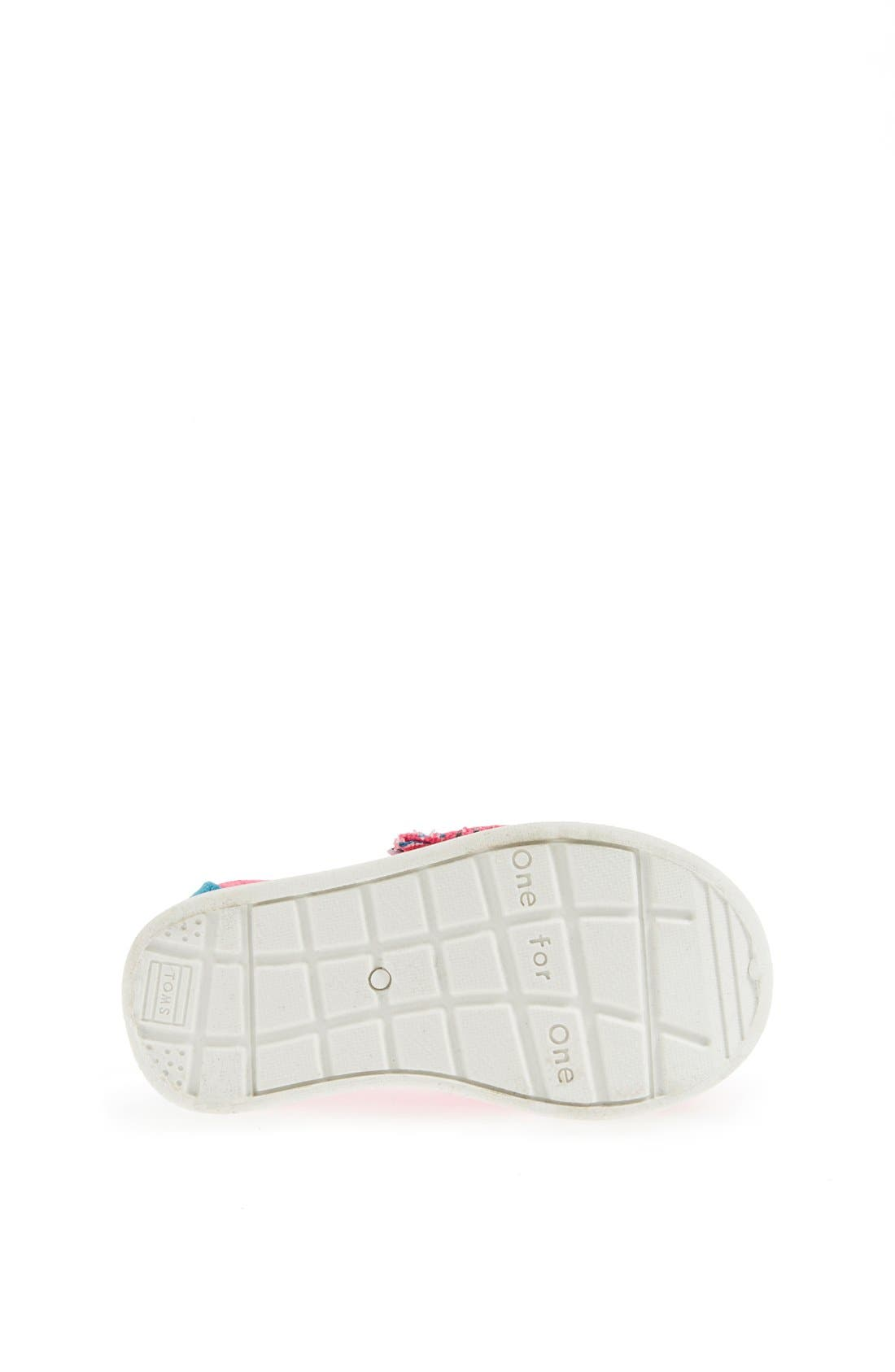 Alternate Image 4  - TOMS 'Classic Tiny - Freetown' Two-Tone Slip-On (Baby, Walker & Toddler)