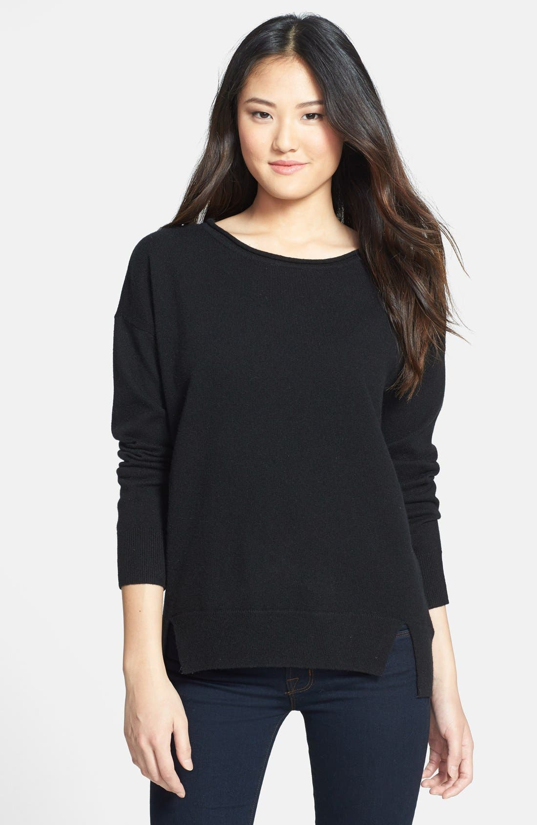 Alternate Image 1 Selected - MICHAEL Michael Kors Drop Shoulder Cashmere Sweater