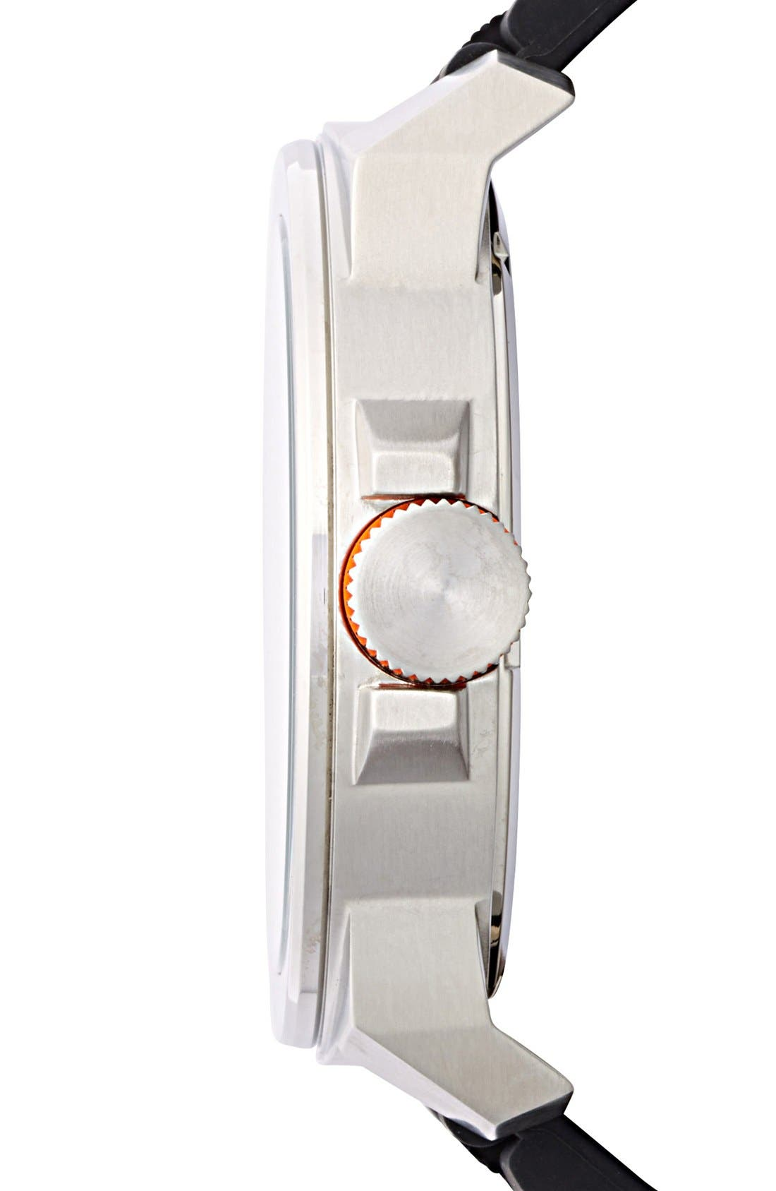 Alternate Image 3  - BOSS Orange Multifunction Silicone Strap Watch, 50mm