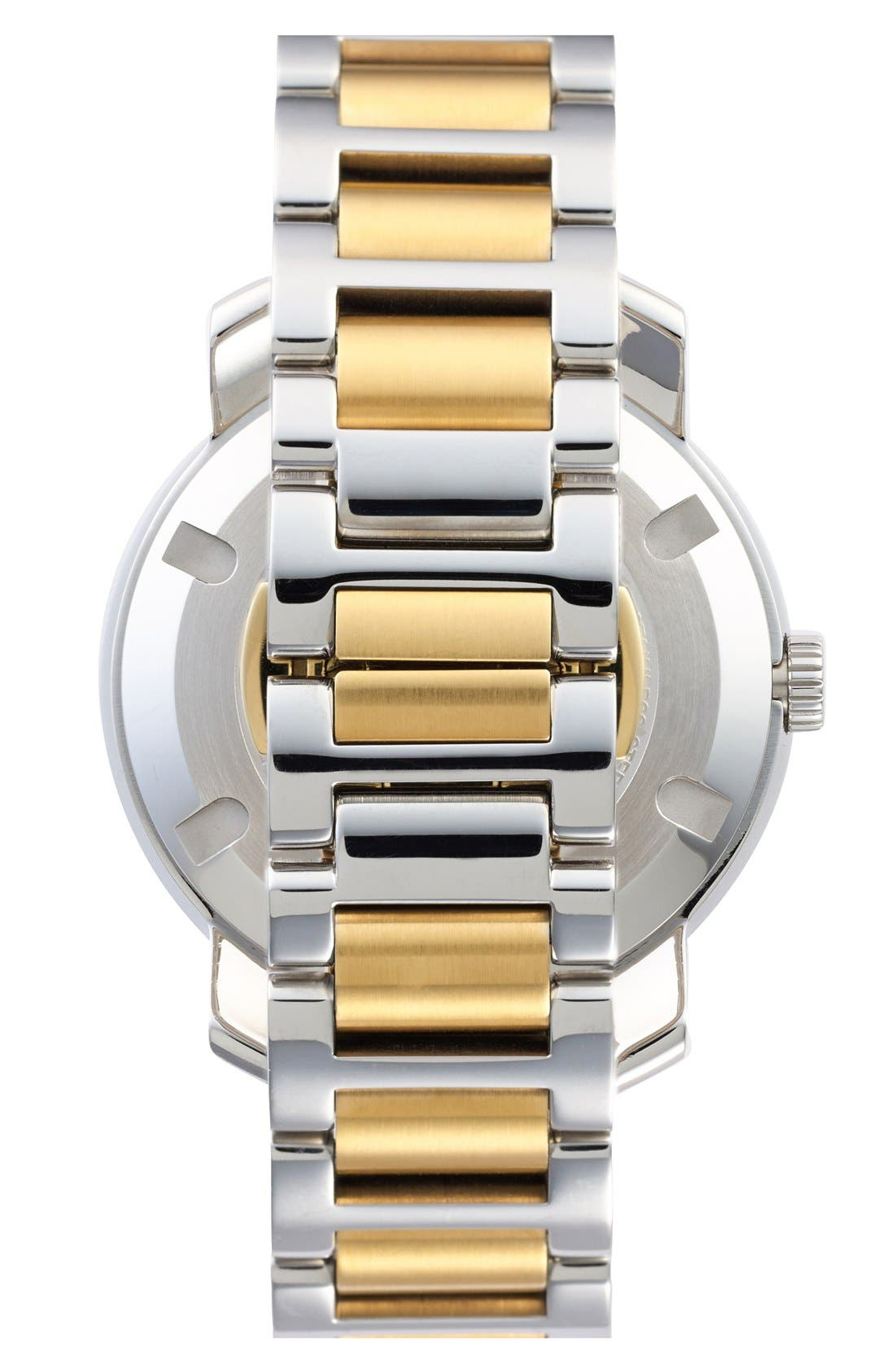 Alternate Image 2  - Movado 'Bold' Two-Tone Round Bracelet Watch, 39mm