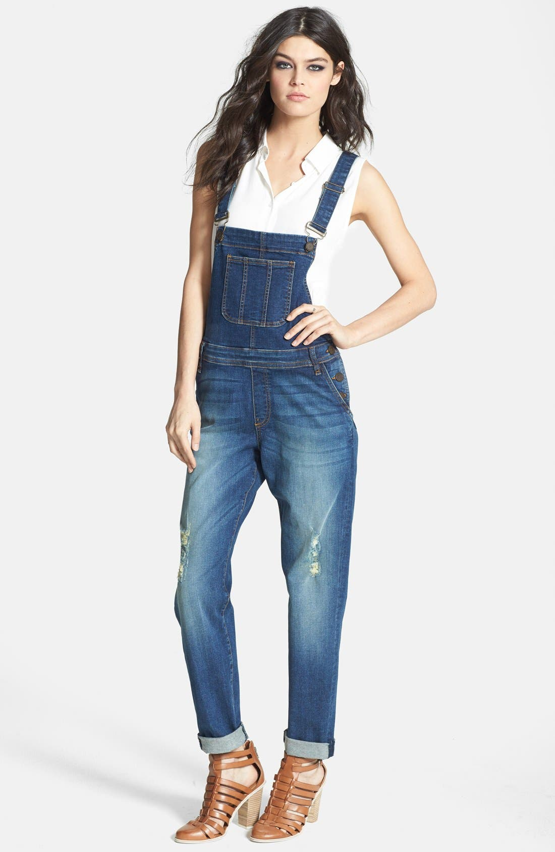 Main Image - edyson Destroyed Overalls