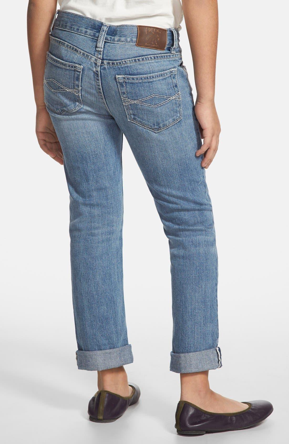 Alternate Image 3  - Peek 'Greta' Stretch Cotton Jeans (Toddler Girls, Little Girls & Big Girls)