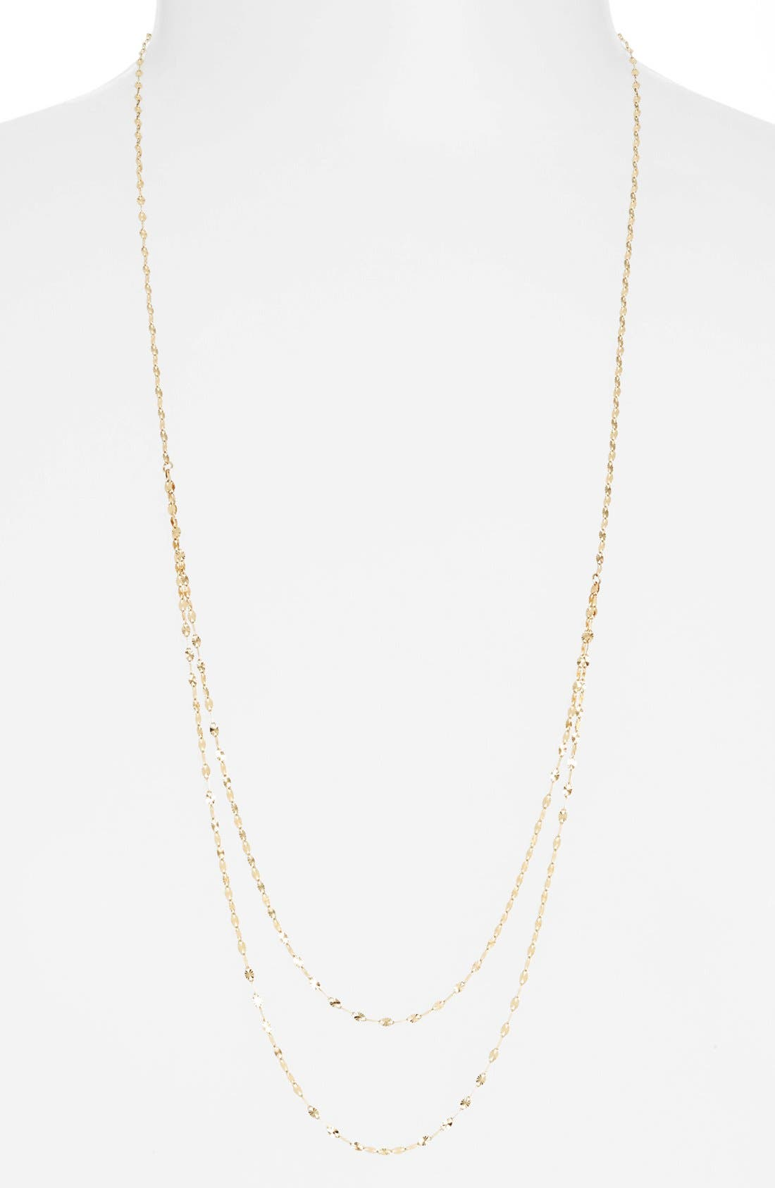 Alternate Image 1 Selected - Lana Jewelry 'Blush' Tiered Link Necklace