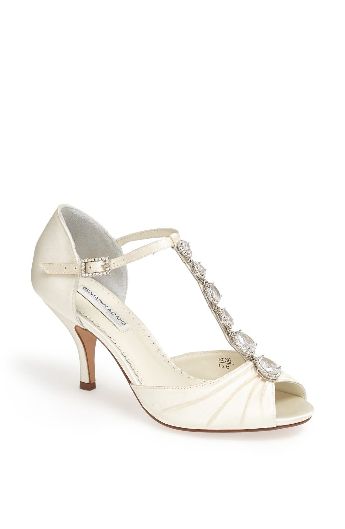 Alternate Image 1 Selected - Benjamin Adams London 'Mia' Crystal Embellished Sandal