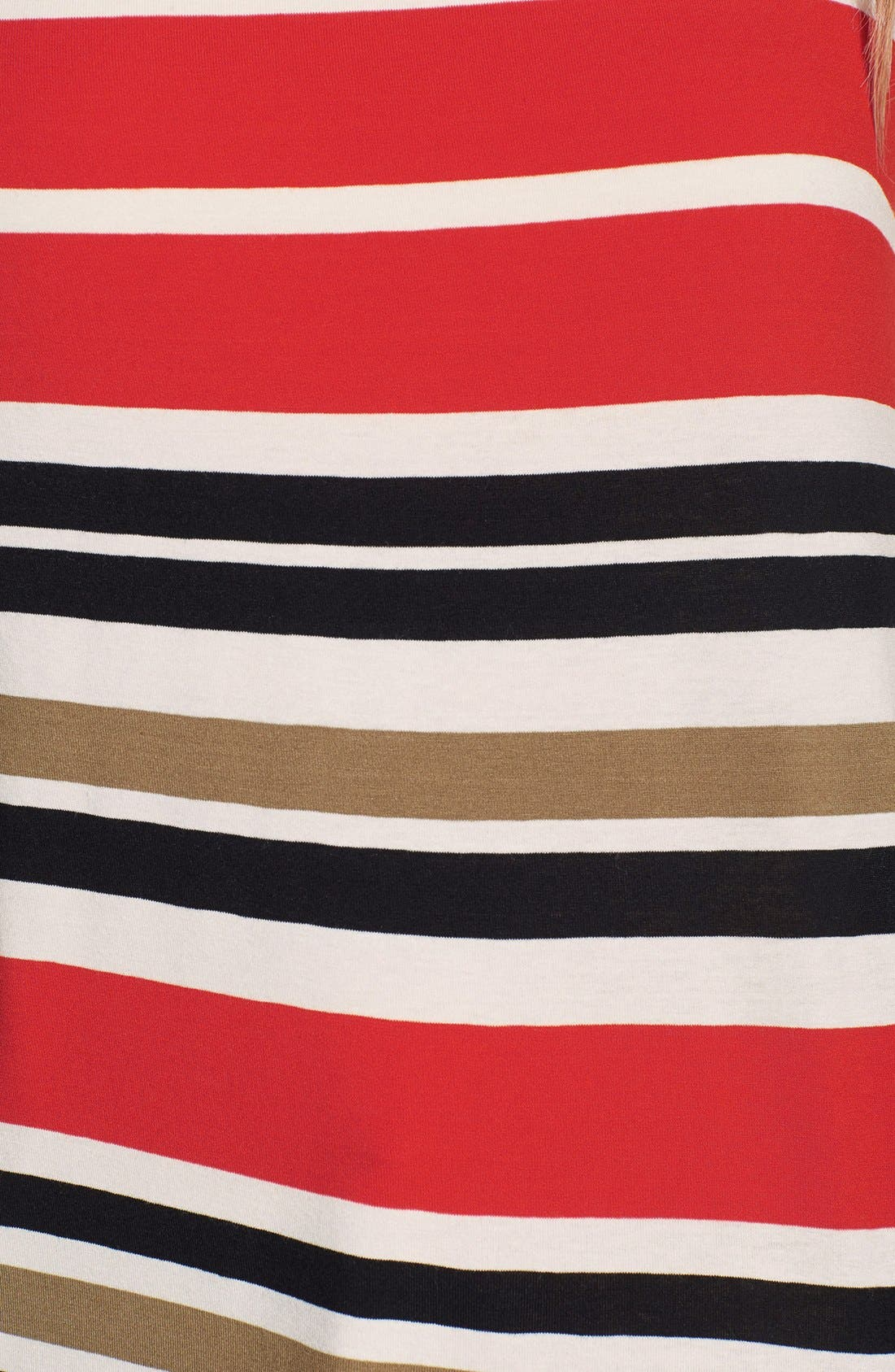 Alternate Image 3  - Vince Camuto 'Legacy Stripe' Mixed Media Blocked Top