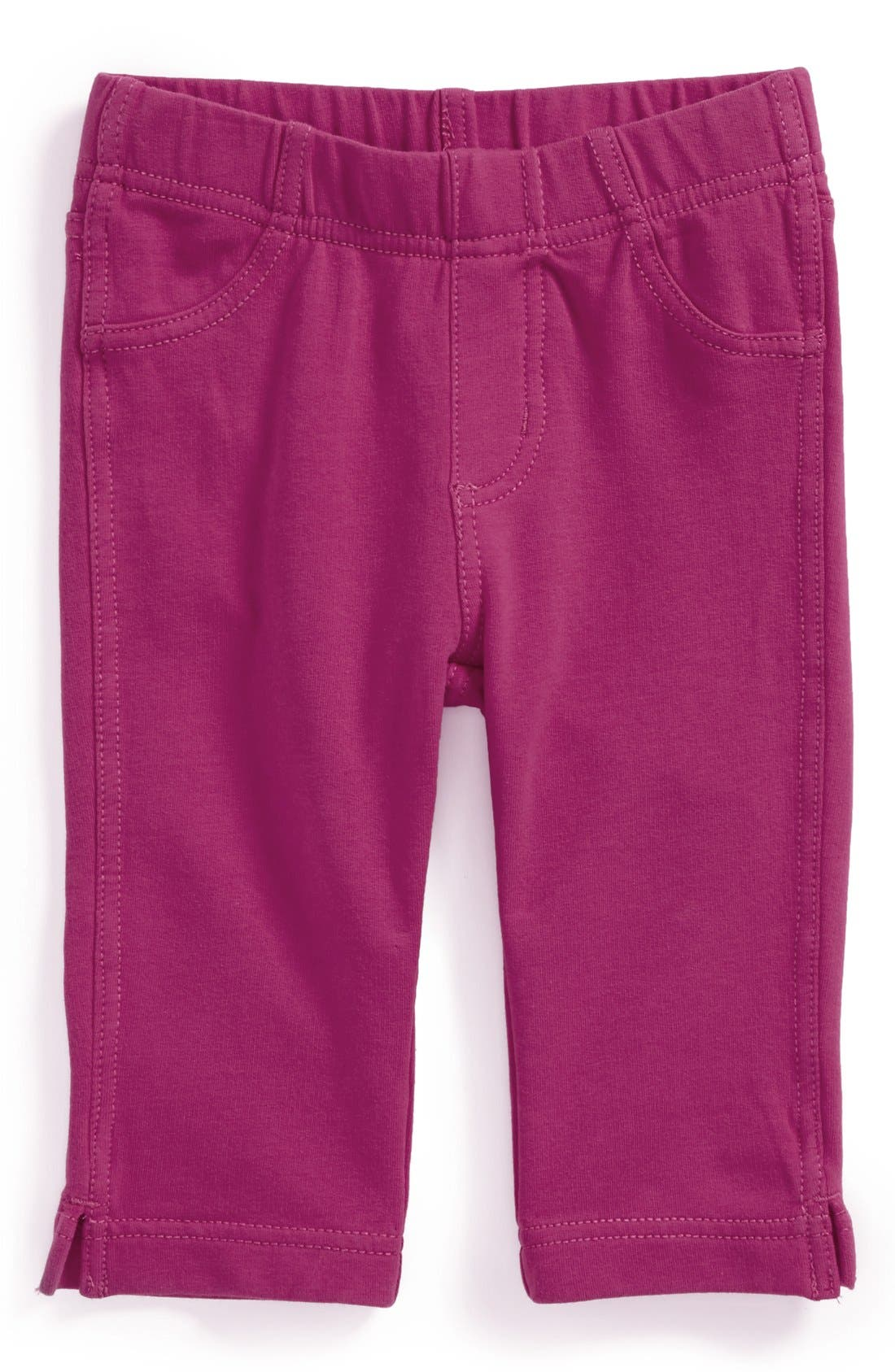 Alternate Image 1 Selected - Tea Collection 'Pedal Pusher' Skinny Stretch Leggings (Toddler Girls)