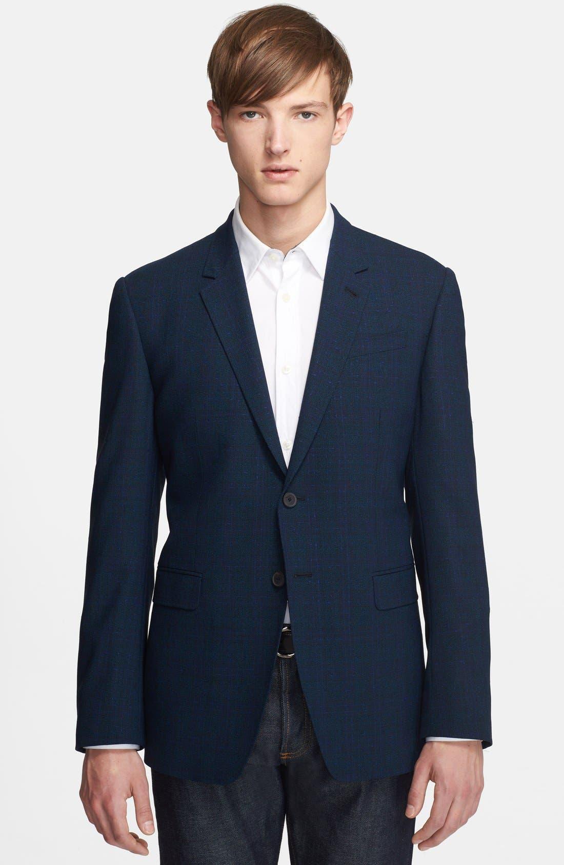 Main Image - Paul Smith London 'Byard Tex' Plaid Wool Sportcoat