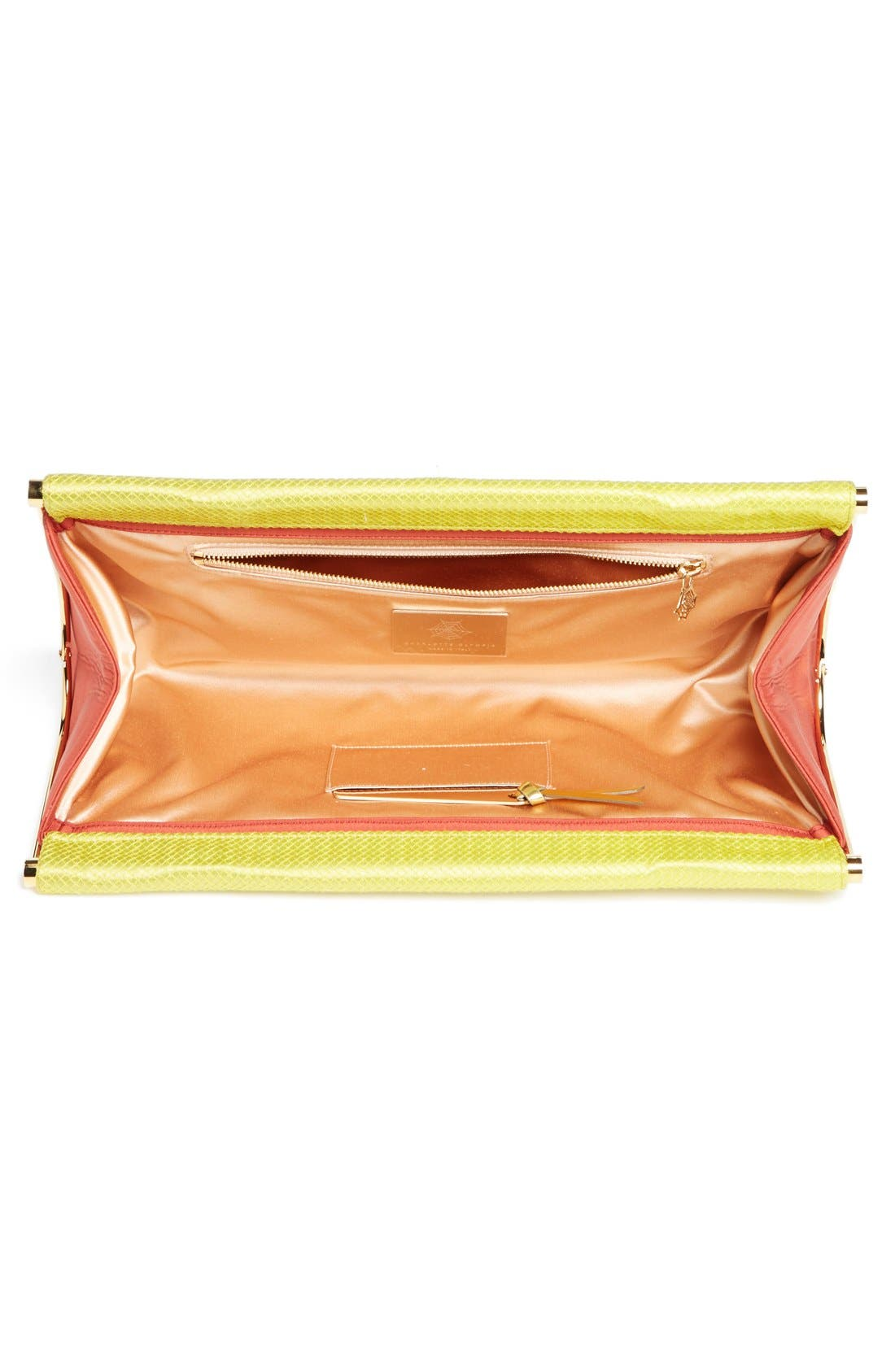 Alternate Image 3  - Charlotte Olympia 'Magazine' Clutch