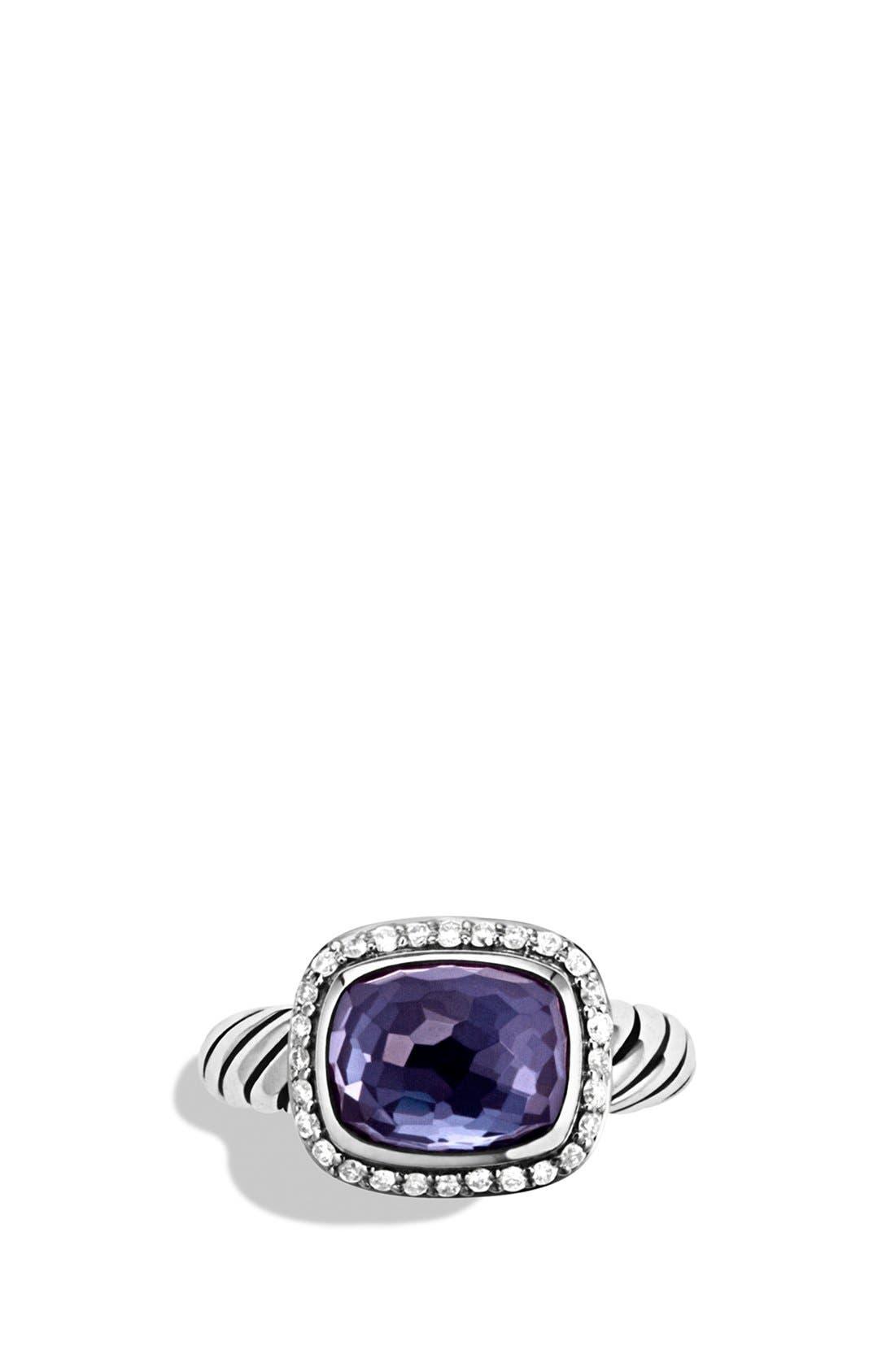 Alternate Image 2  - David Yurman 'Noblesse' Ring with Diamonds