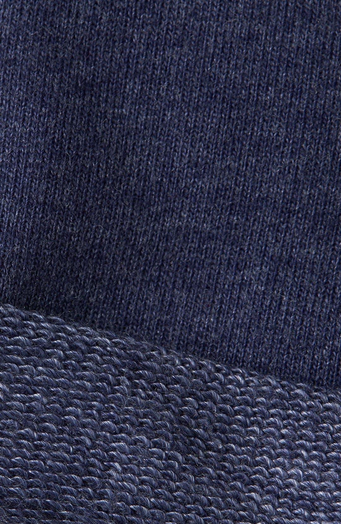 Alternate Image 3  - Topman Trim Fit Jersey Knit Shorts