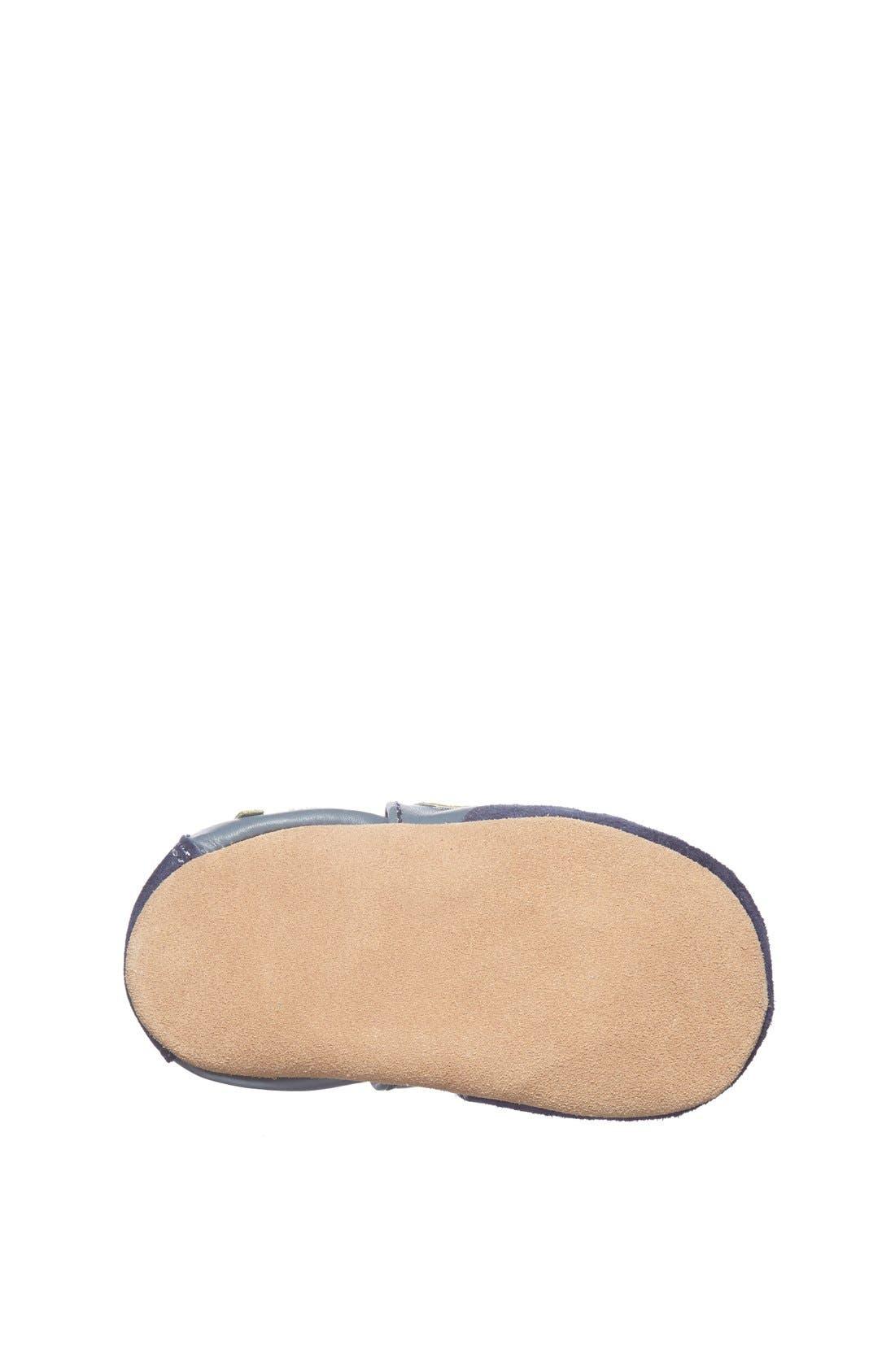 Alternate Image 4  - Robeez® 'All Star Rodney' Crib Shoe (Baby & Walker)