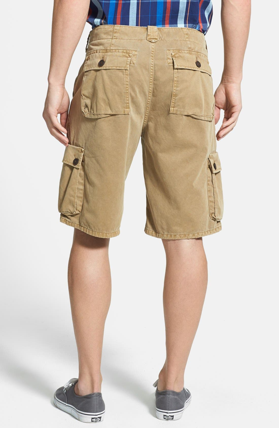 Alternate Image 2  - Lucky Brand Relaxed Cargo Shorts