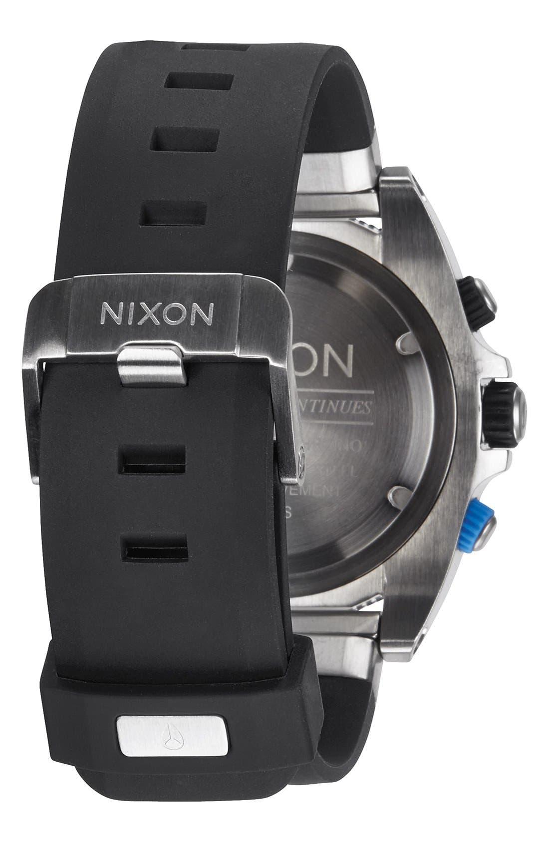 Alternate Image 2  - Nixon 'Rover' Chronograph Strap Watch, 44mm