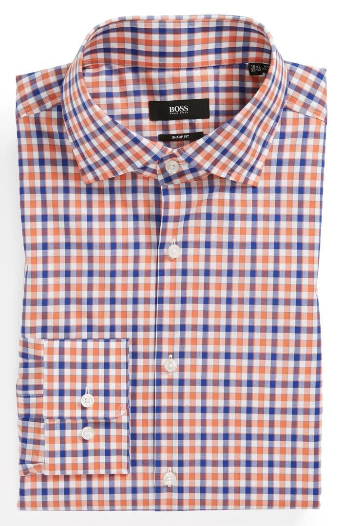 Hugo boss trim dress shirt nordstrom for Hugo boss dress shirt review