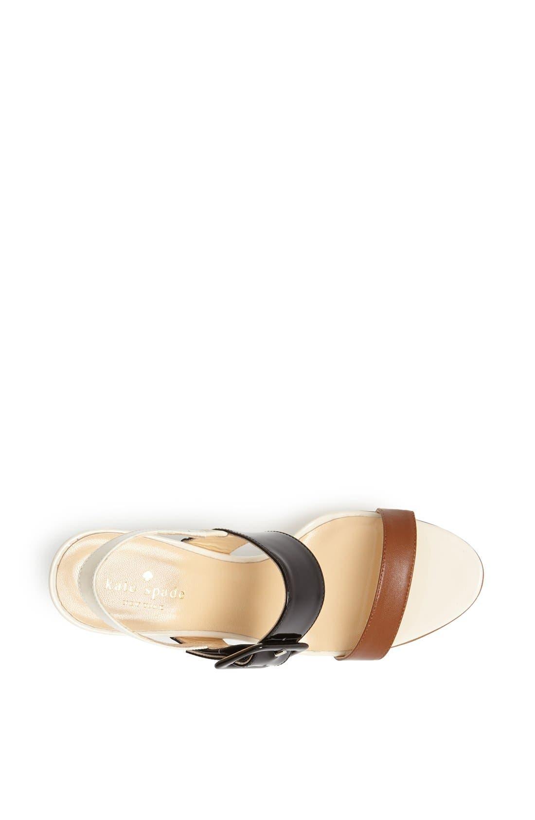 Alternate Image 3  - kate spade new york 'isola' wedge sandal