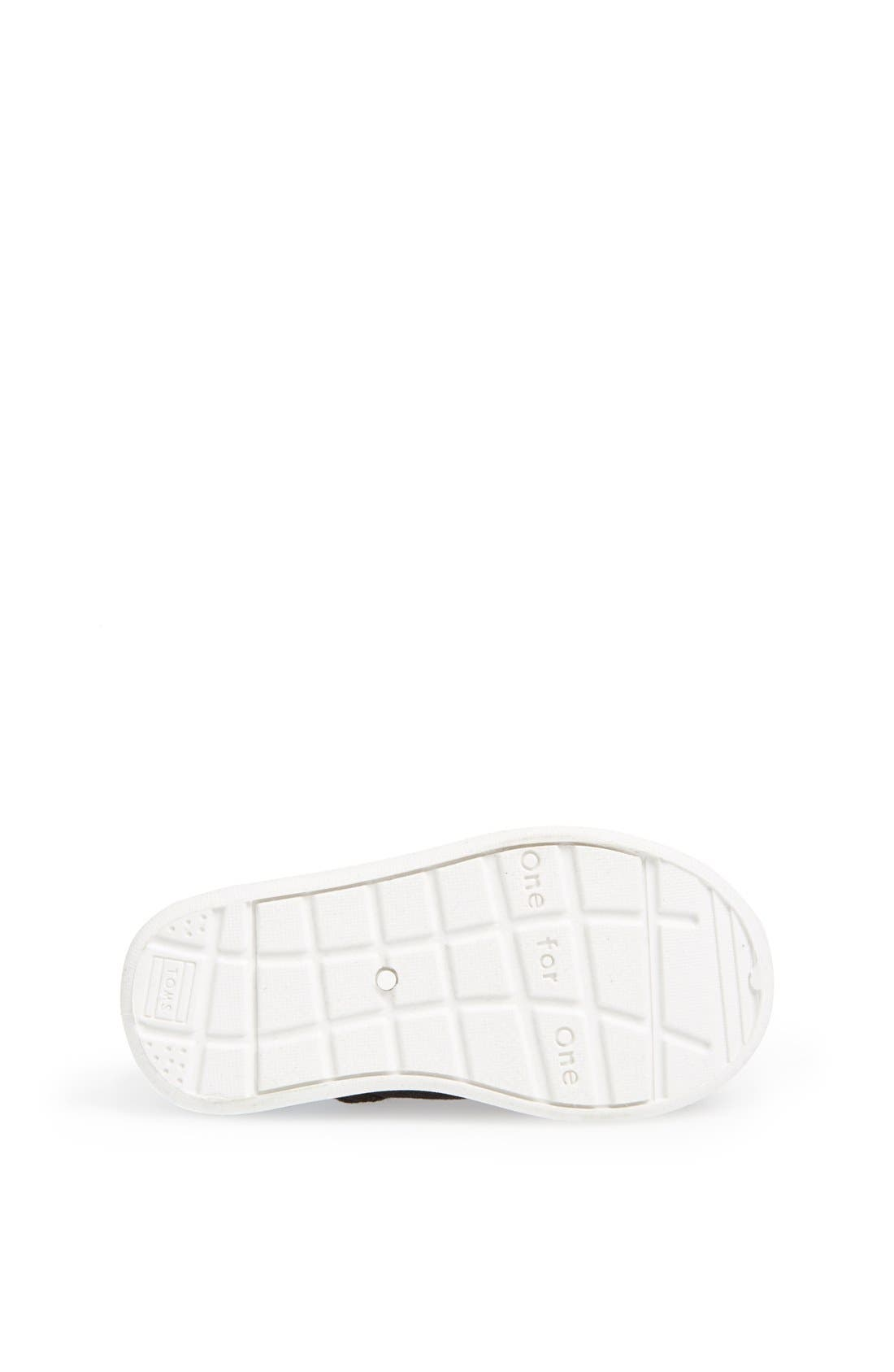 Alternate Image 4  - TOMS 'Cordones - Tiny' Sneaker (Baby, Walker & Toddler)