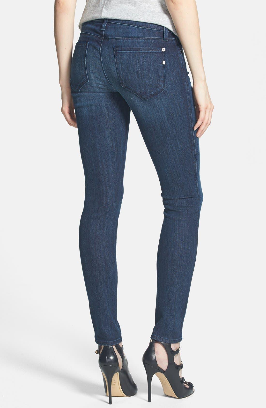 Alternate Image 2  - Genetic 'Shya' Skinny Jeans (Hype)
