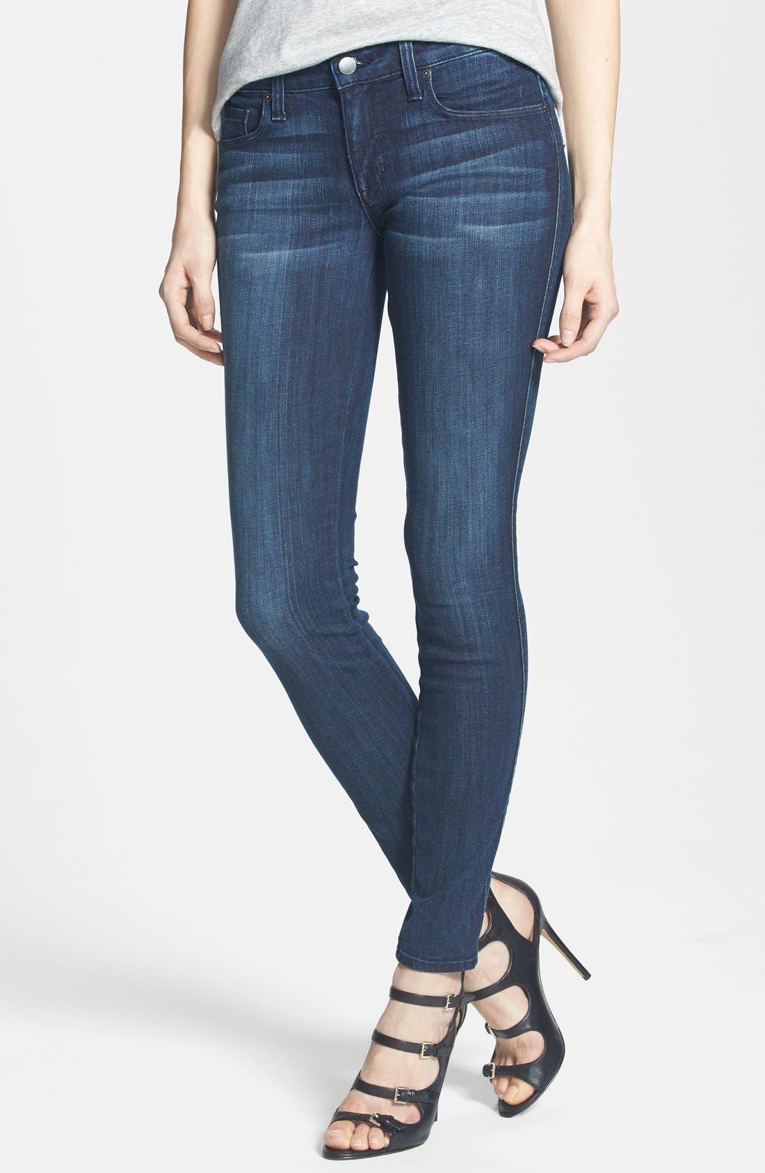 Alternate Image 1 Selected - Genetic 'Shya' Skinny Jeans (Hype)