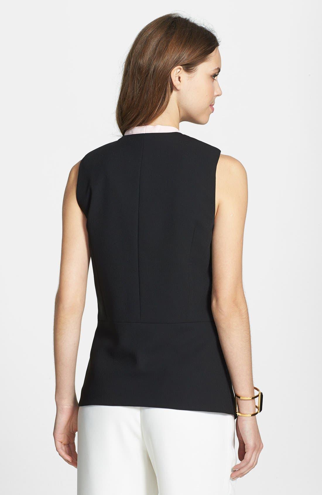 Alternate Image 2  - Vince Camuto Angled Front Vest