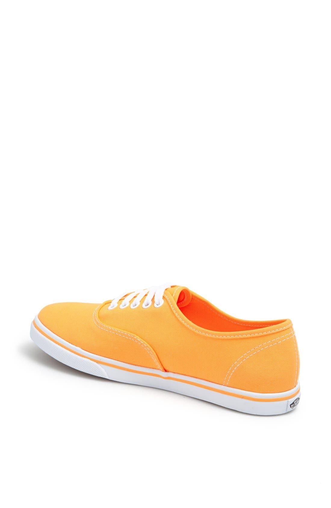 Alternate Image 2  - Vans 'Authentic Lo Pro - Neon' Sneaker (Women)