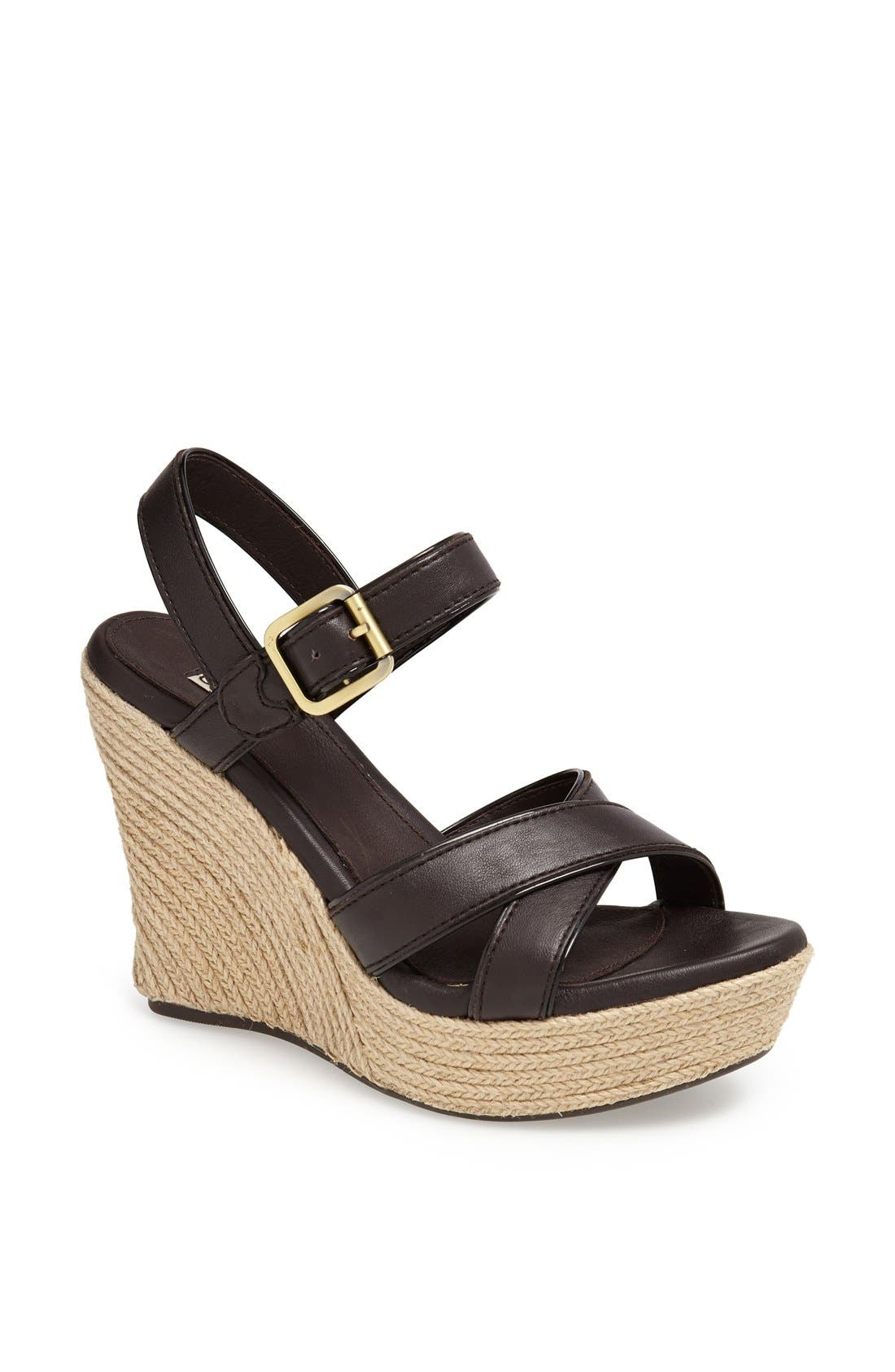 Alternate Image 1 Selected - UGG® Australia 'Jackilyn' Sandal (Women)