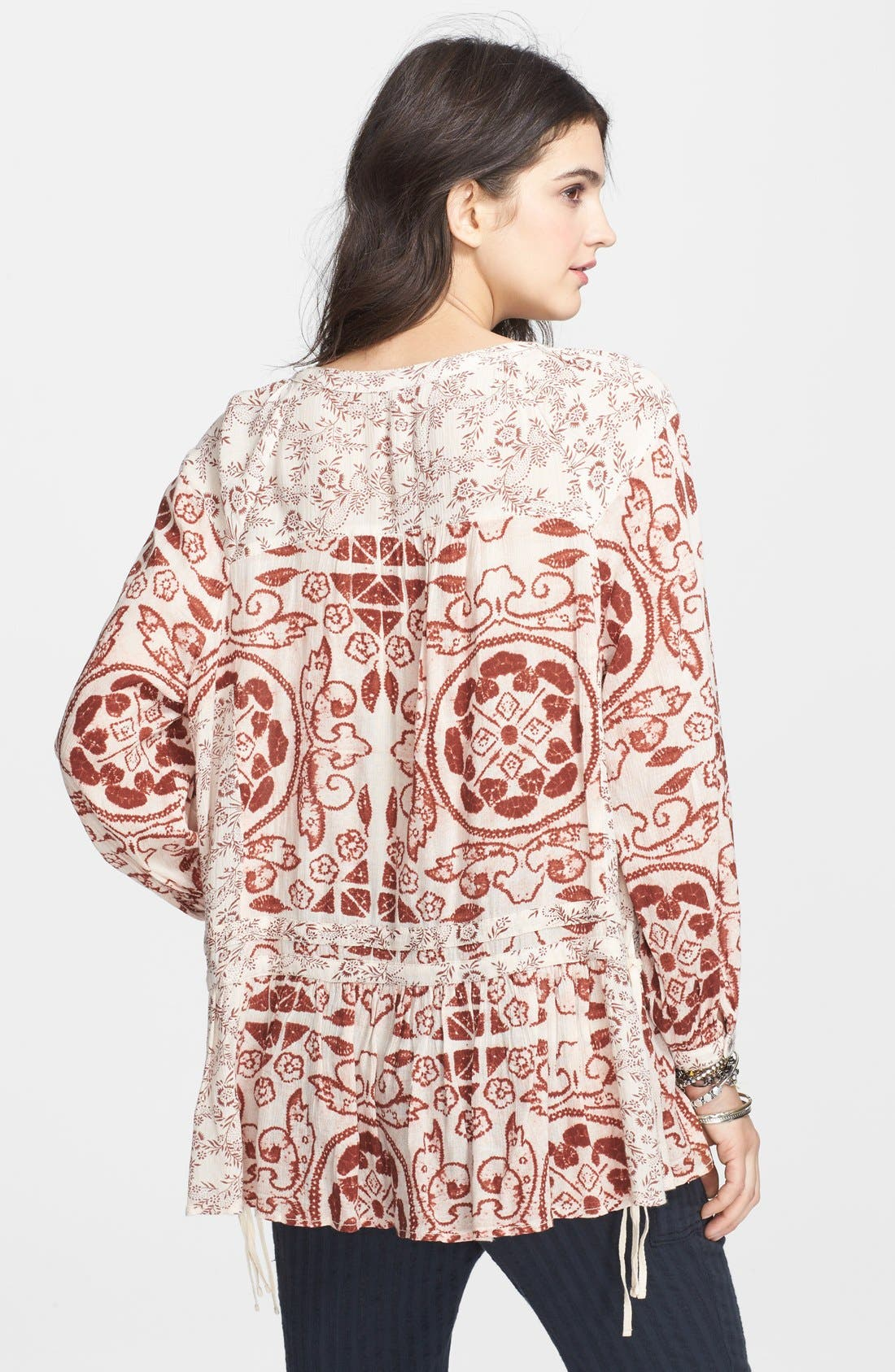 Alternate Image 2  - Free People 'Ratio' Print Tunic Top
