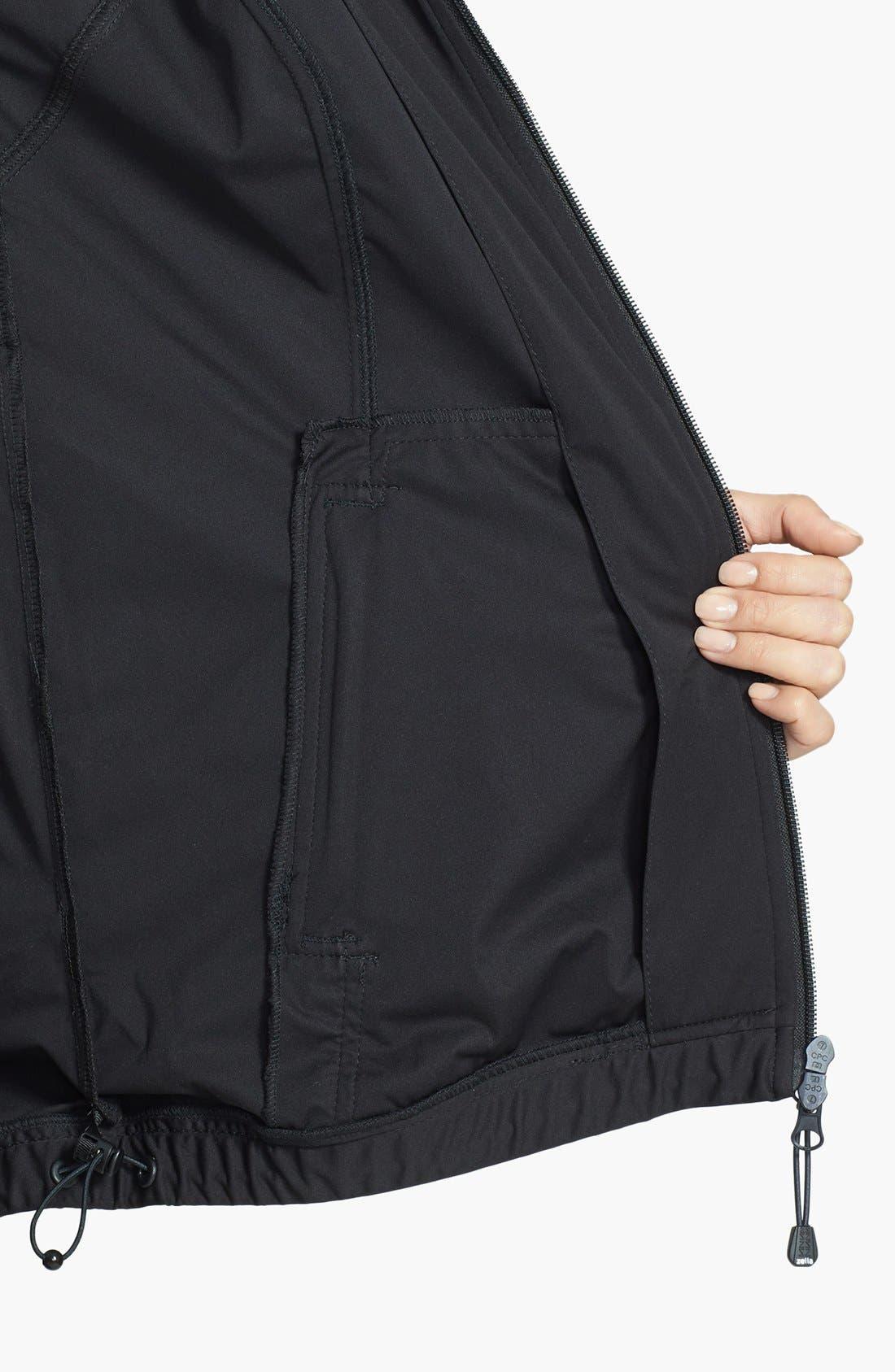 Alternate Image 5  - Zella 'Luxe' Rain Jacket