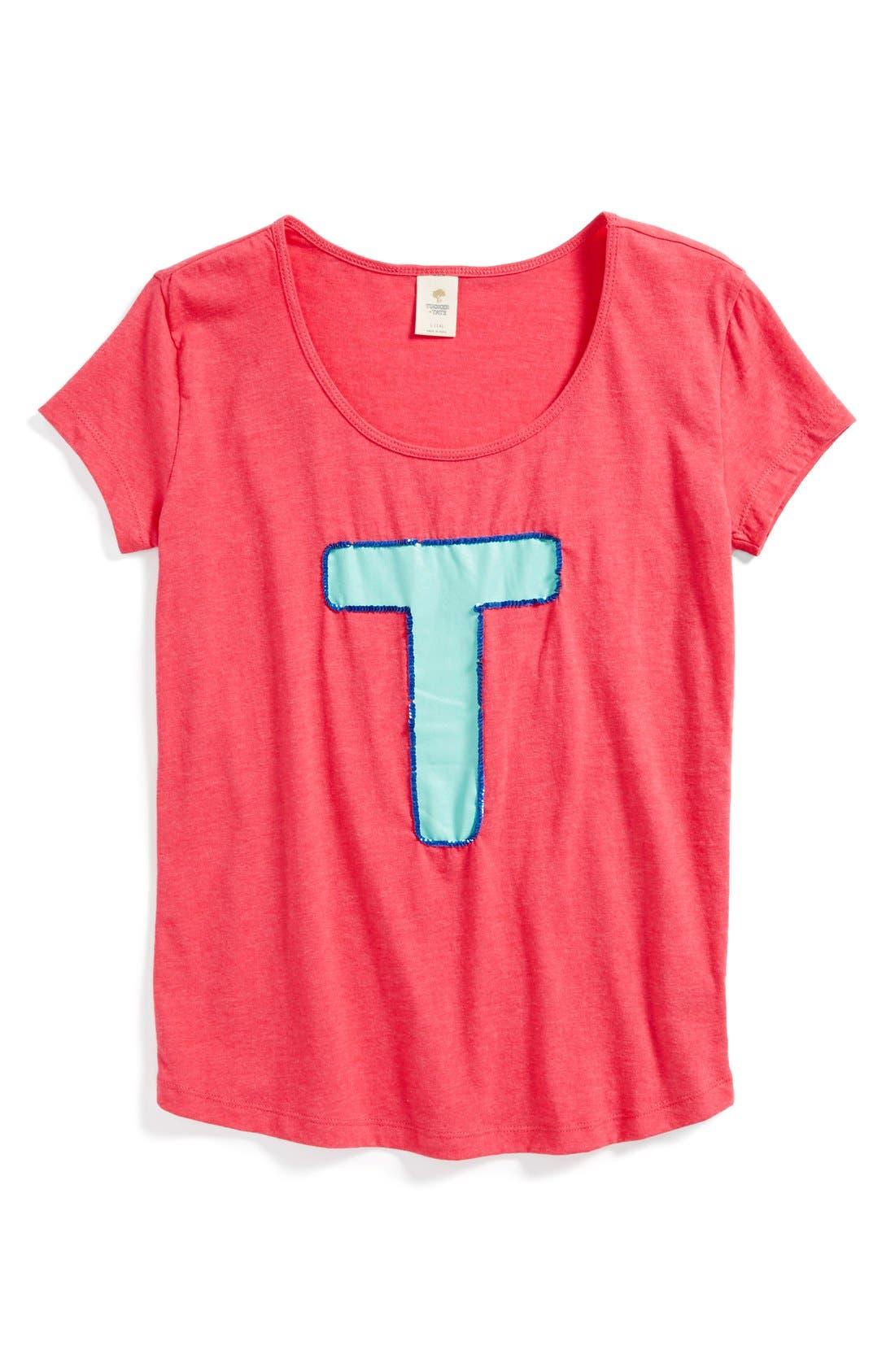 Alternate Image 1 Selected - Tucker + Tate 'Dockside' Graphic Tee (Big Girls)