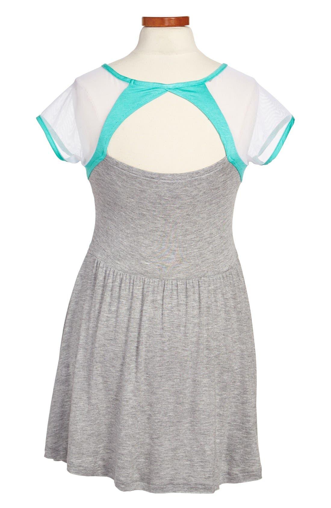Alternate Image 2  - Sally Miller Cutout Dress (Big Girls)