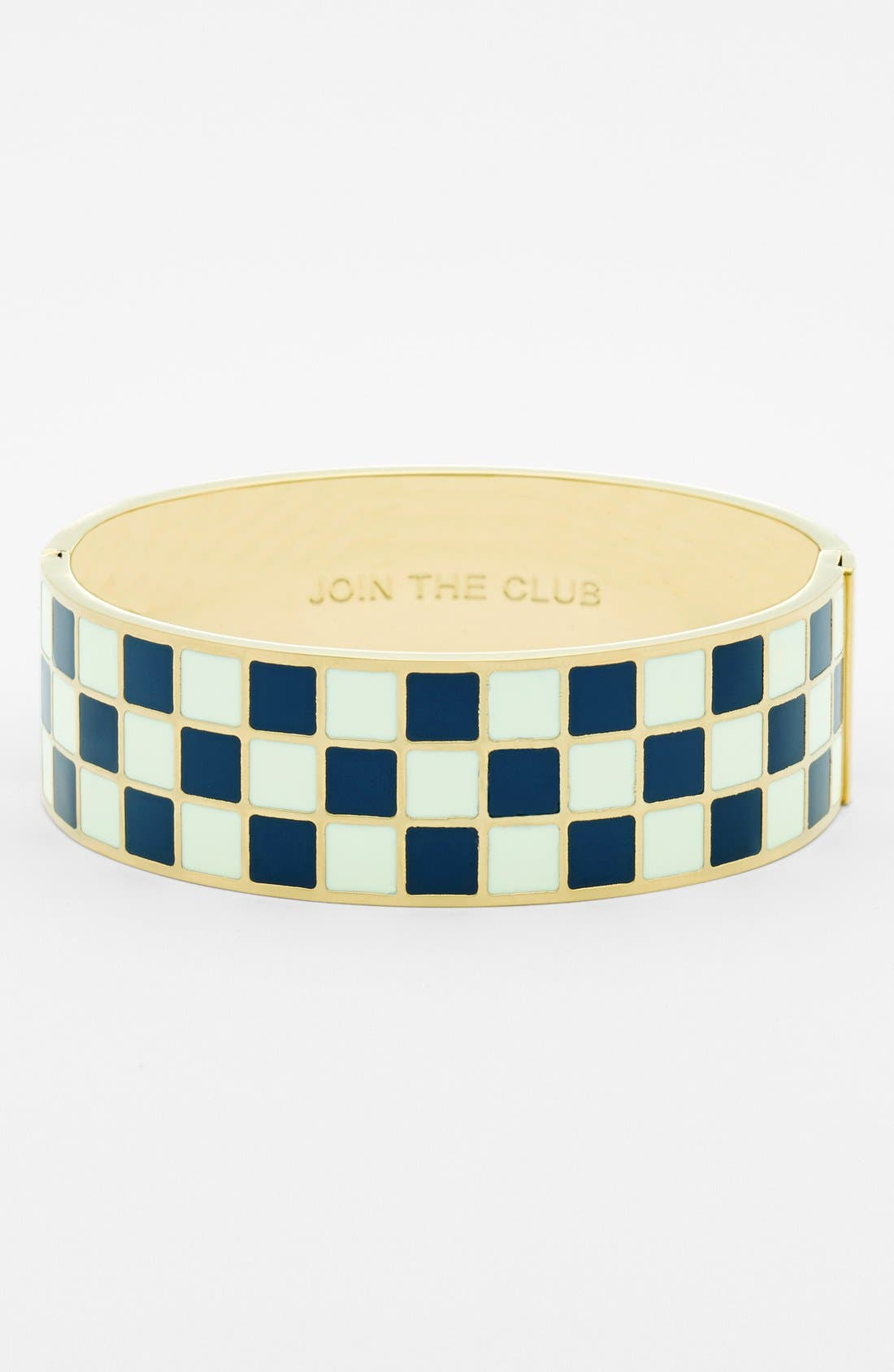 Alternate Image 1 Selected - kate spade new york 'idiom - join the club' hinge bangle
