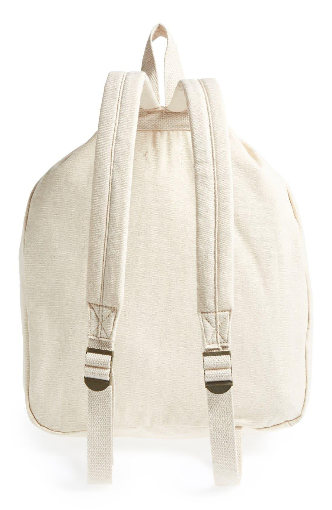 Alternate Image 4  - Roxy 'Flybird' Drawstring Backpack (Girls)