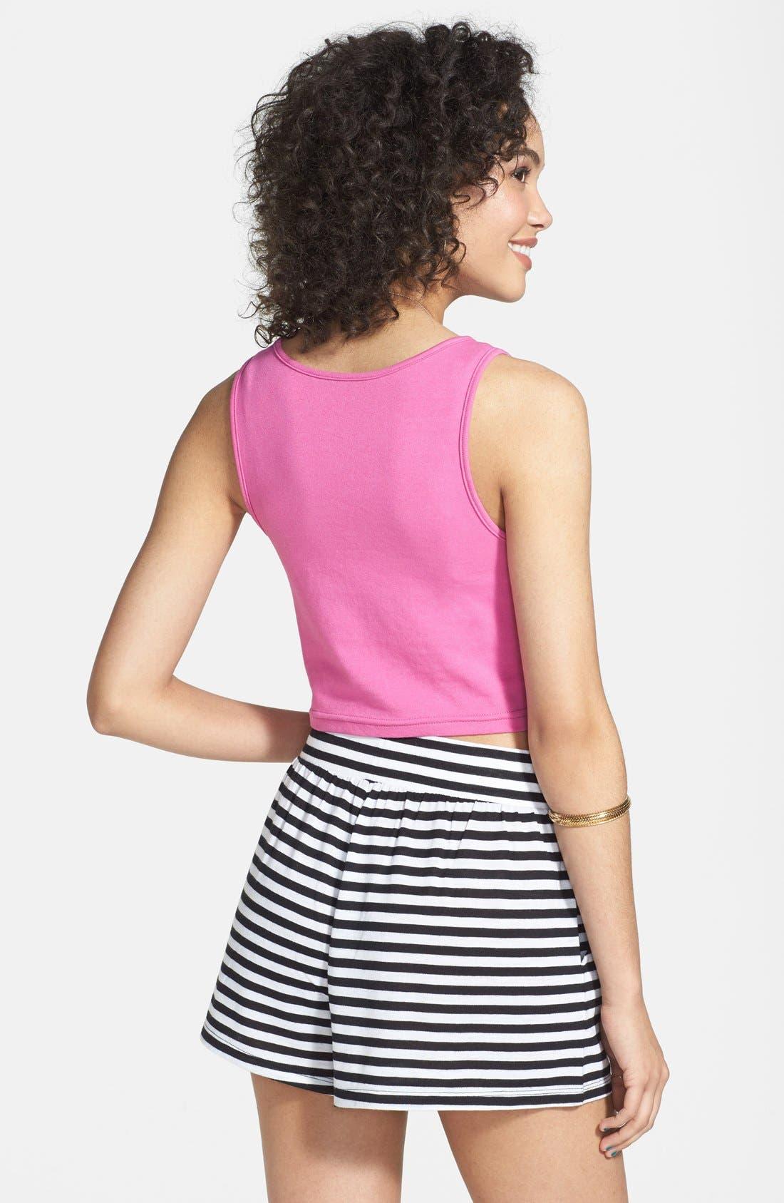 Alternate Image 2  - Rubbish® Knit Shorts (Juniors)