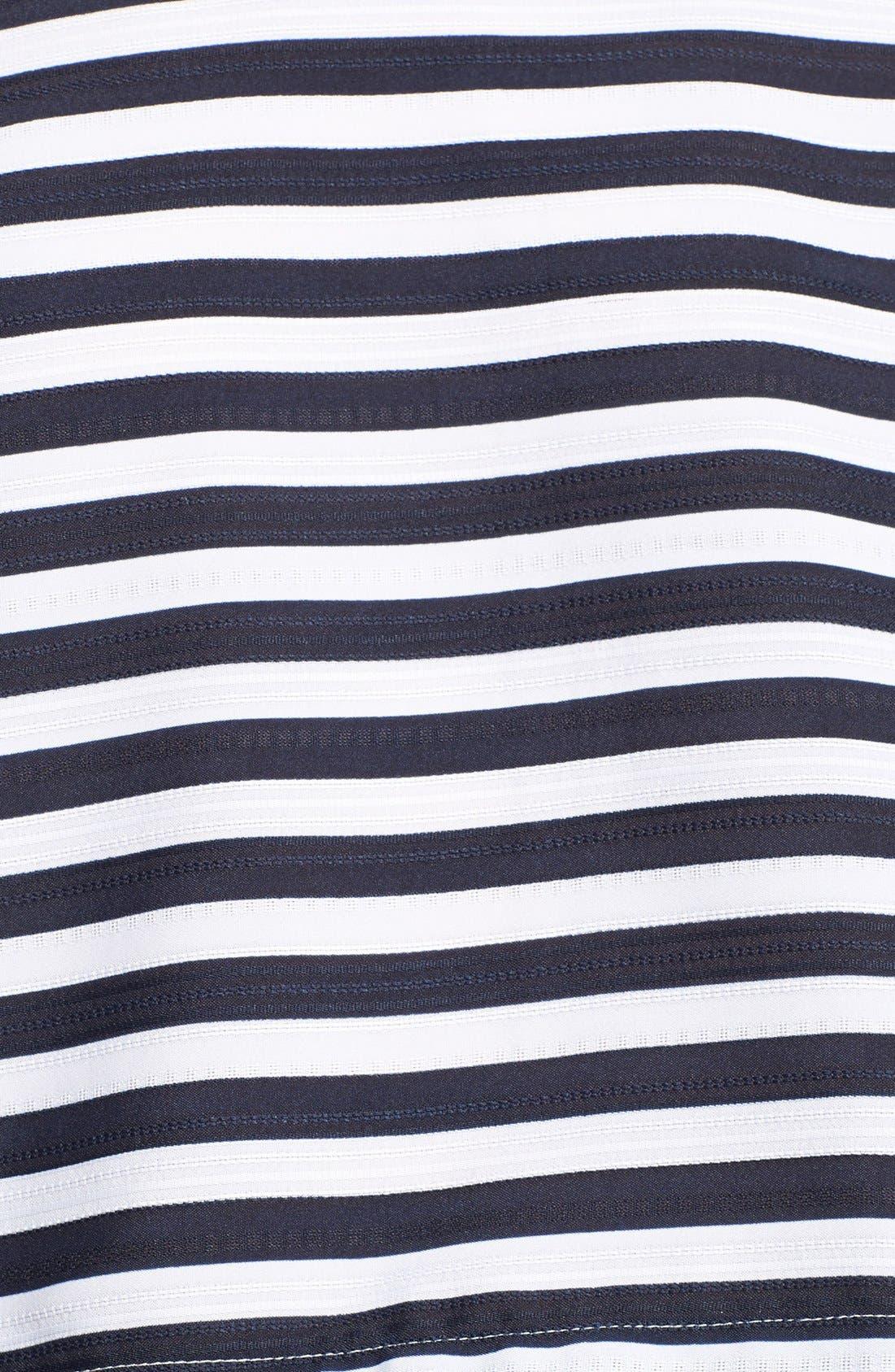 Alternate Image 3  - JOA Stripe Jacquard Crop Top
