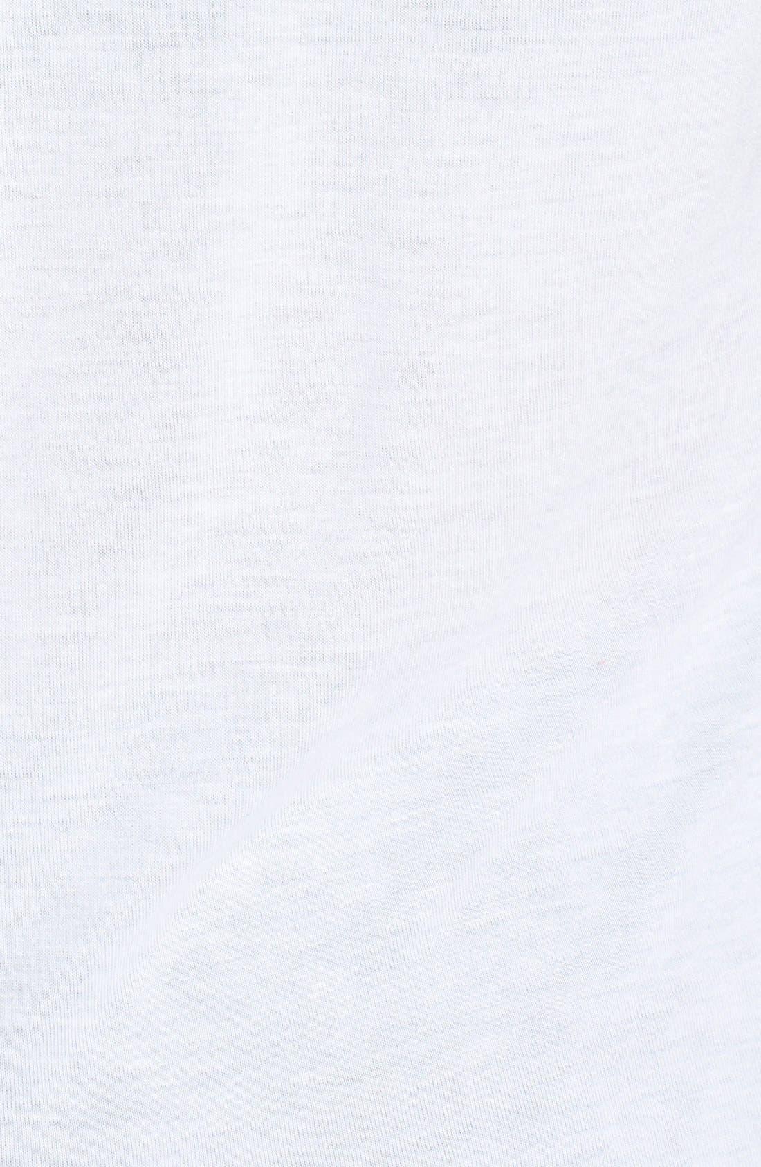Alternate Image 3  - DKNY Mesh Back Tee (Plus Size)