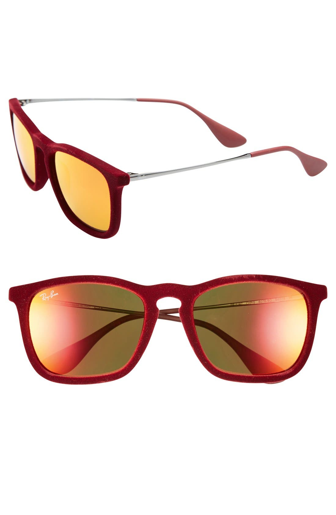 Main Image - Ray-Ban 'Youngster' Velvet 55mm Sunglasses