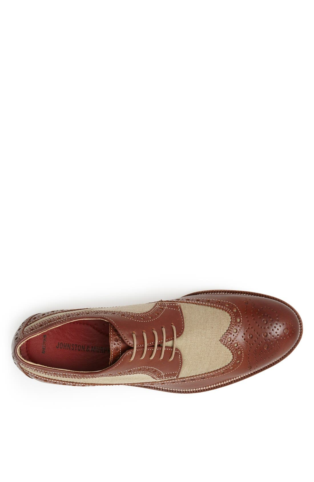 Alternate Image 3  - Johnston & Murphy 'Clayton' Longwing Spectator Shoe (Online Only)