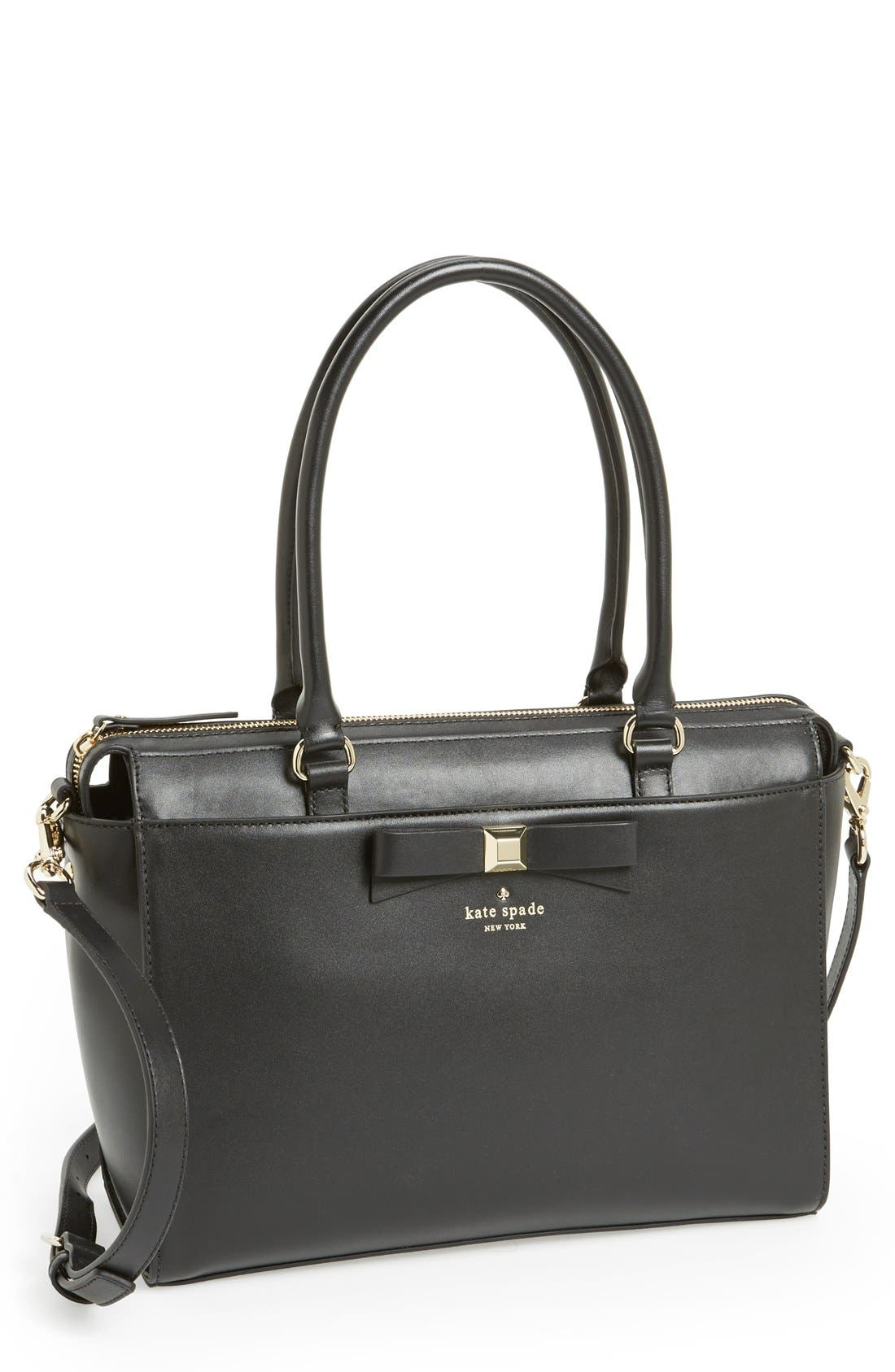 Main Image - kate spade new york 'holly street - jeanne' leather tote