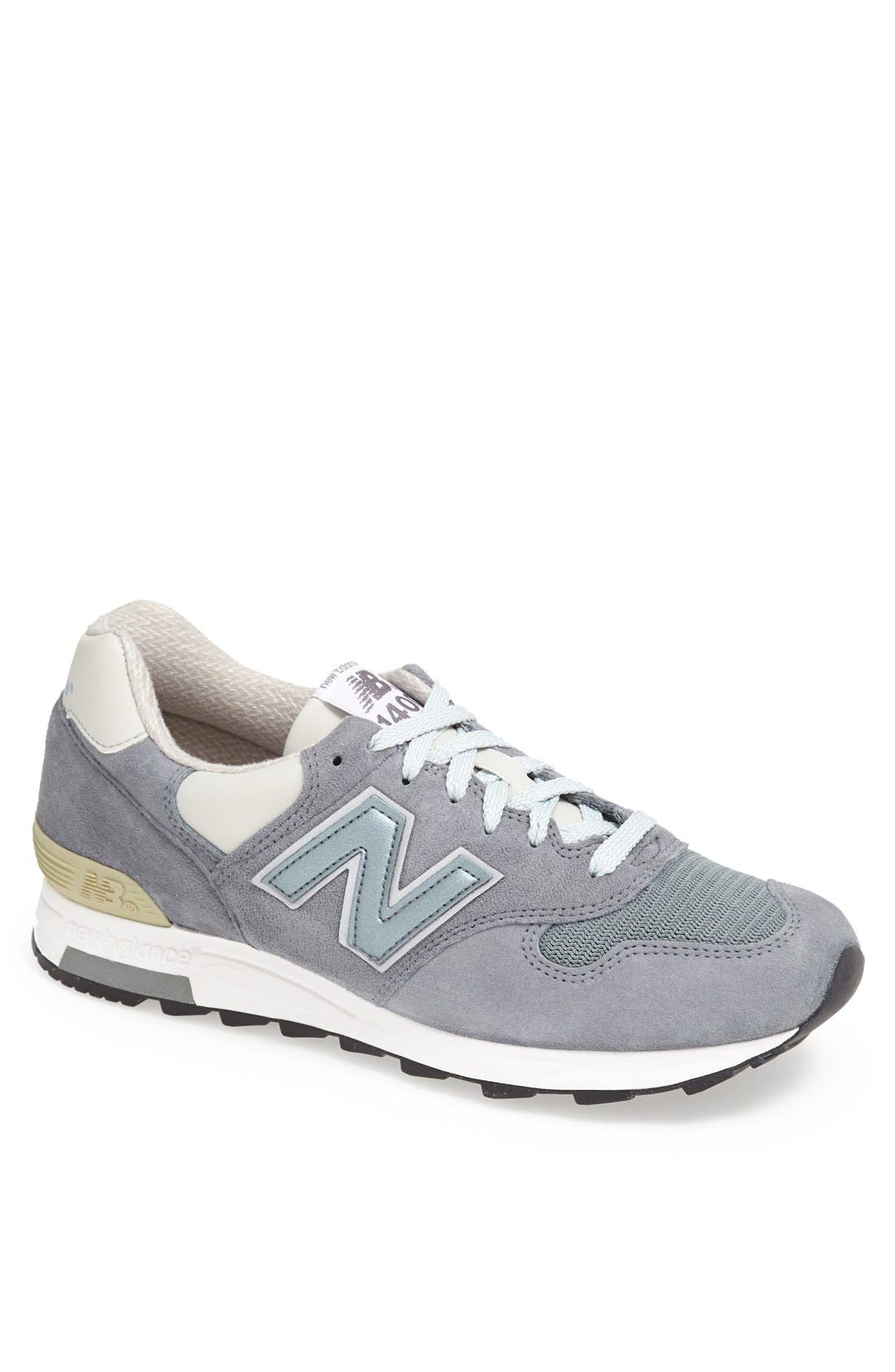Alternate Image 1 Selected - New Balance '1400' Suede Running Shoe (Men)