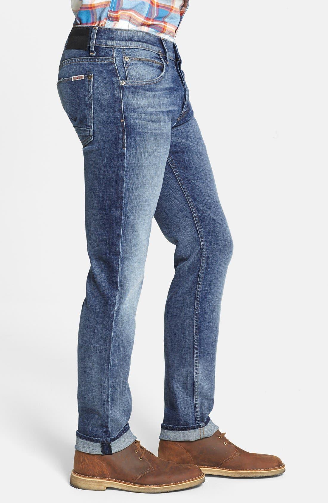 Alternate Image 3  - Hudson Jeans 'Byron' Straight Leg Jeans (Rebel Roadside)
