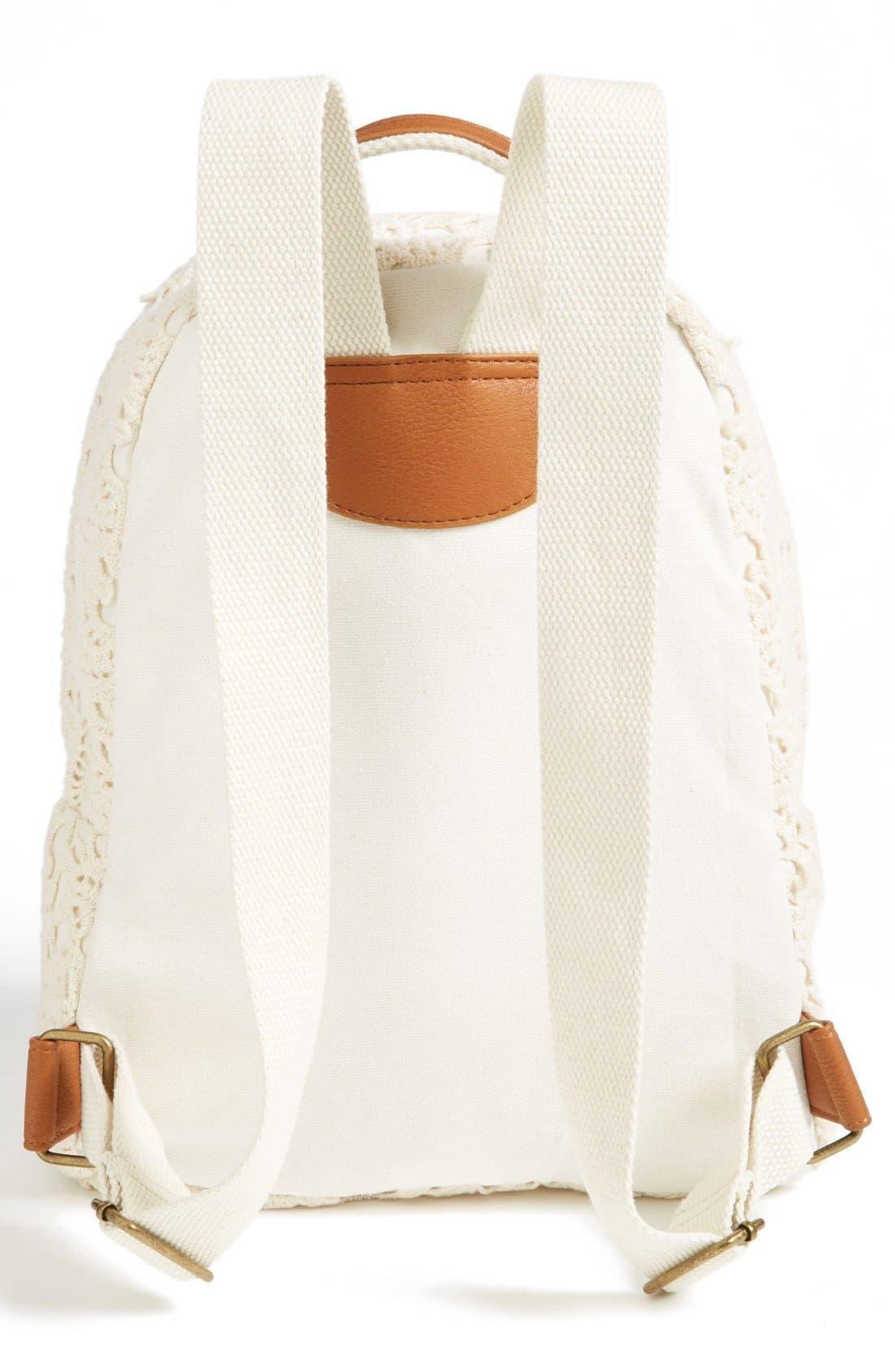 Alternate Image 3  - KENDALL + KYLIE Madden Girl Crochet Backpack (Juniors)