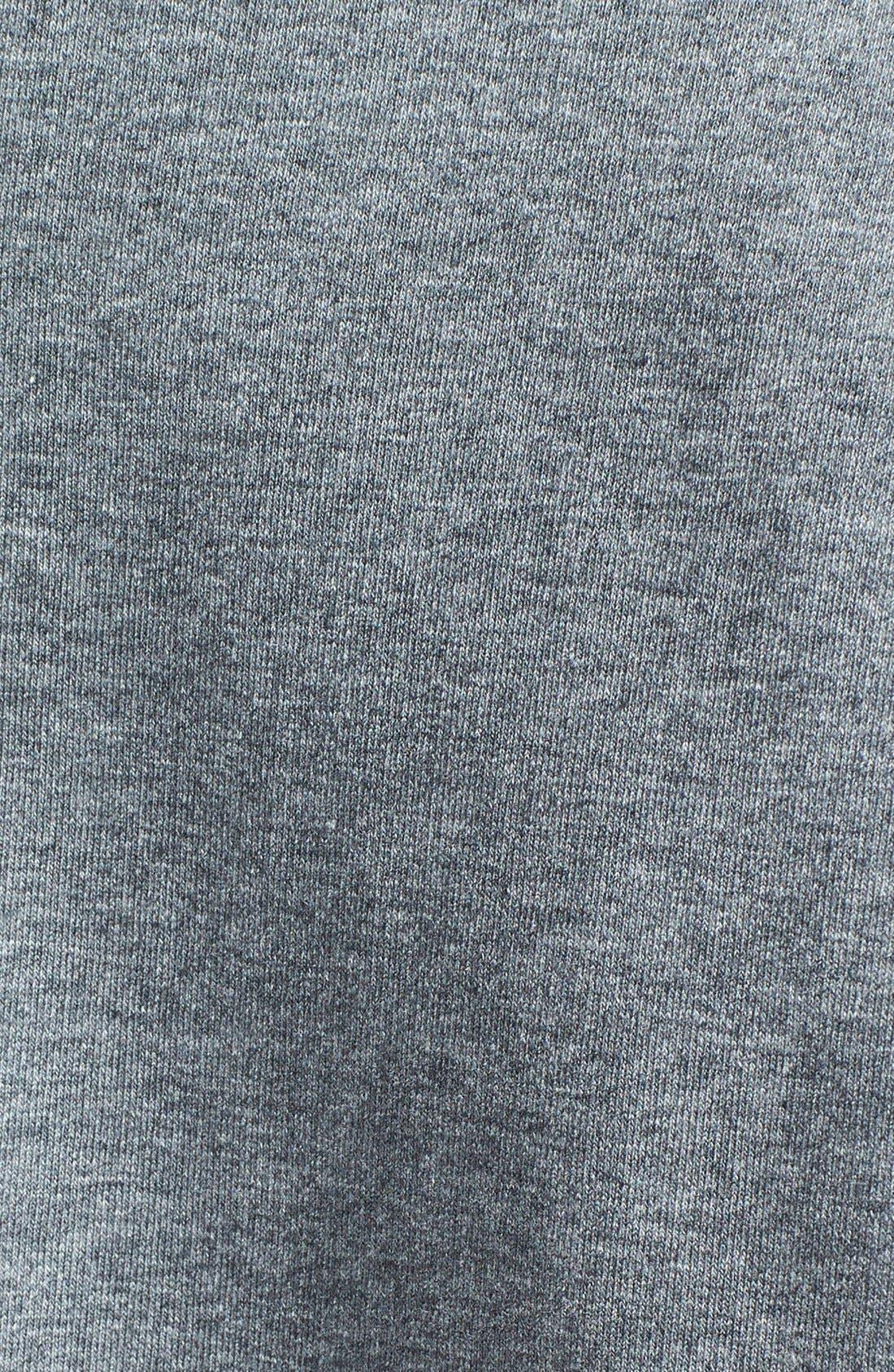 Alternate Image 3  - Halogen® Short Sleeve Sweatshirt (Regular & Petite)