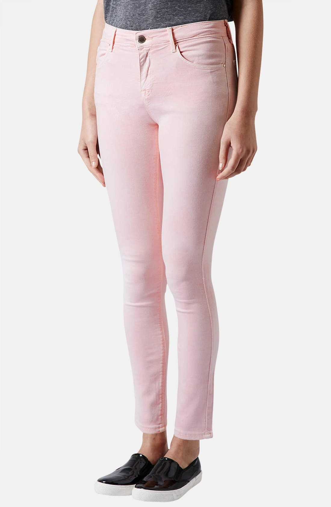 Alternate Image 1 Selected - Topshop Moto 'Leigh' Skinny Jeans (Regular, Short & Long)