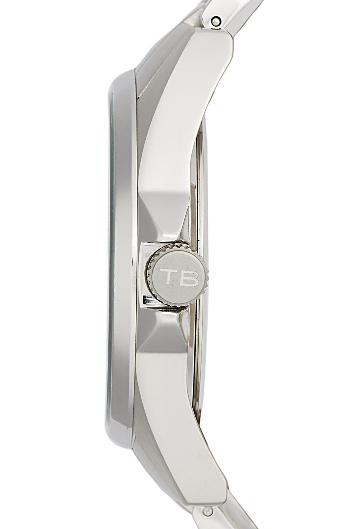 Alternate Image 3  - Ted Baker London Round Bracelet Watch, 42mm
