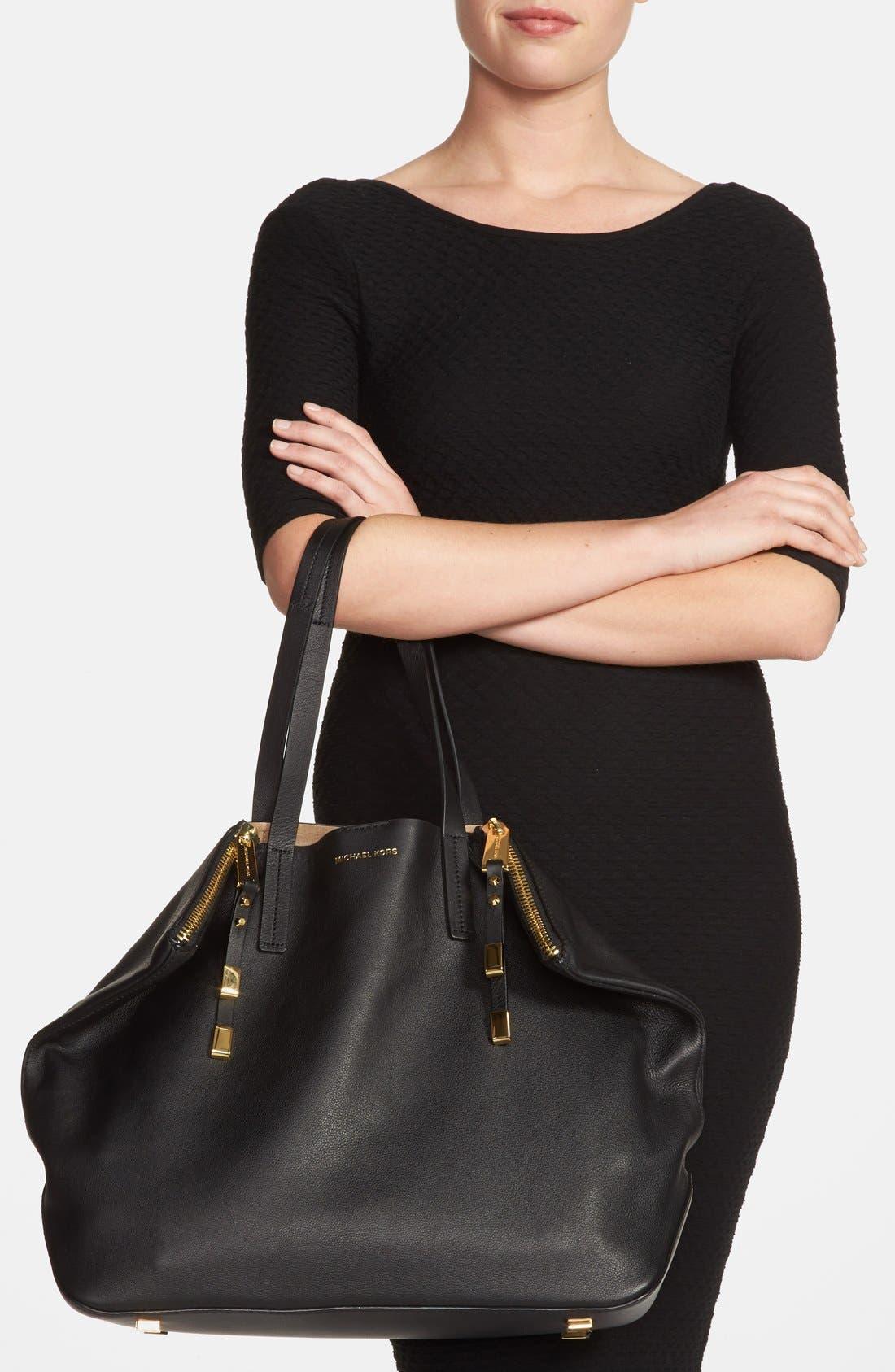 Alternate Image 2  - Michael Kors 'Large Miranda' Leather Shopper